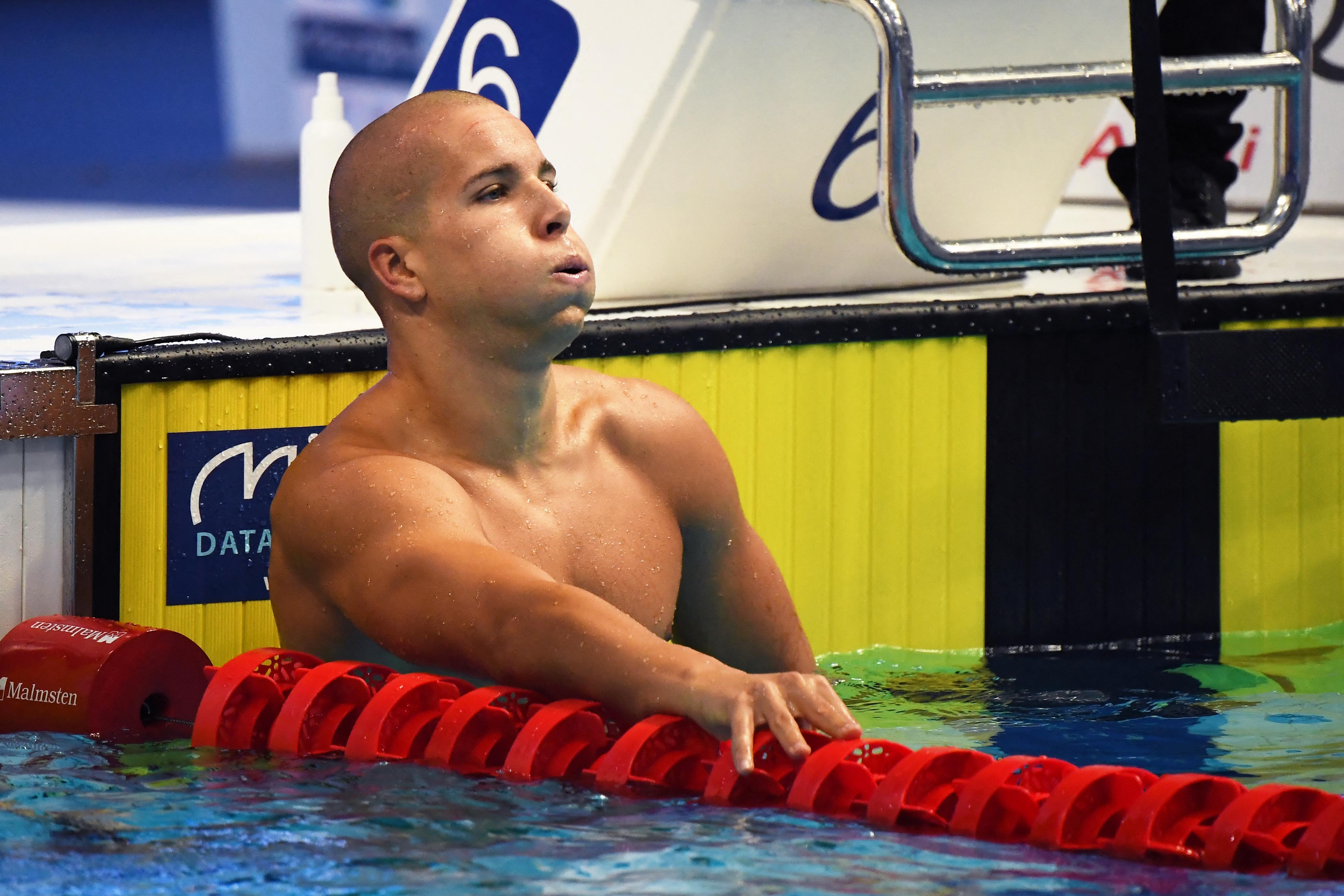Szabó Szebasztián Európa-bajnok lett 50 méter pillangón