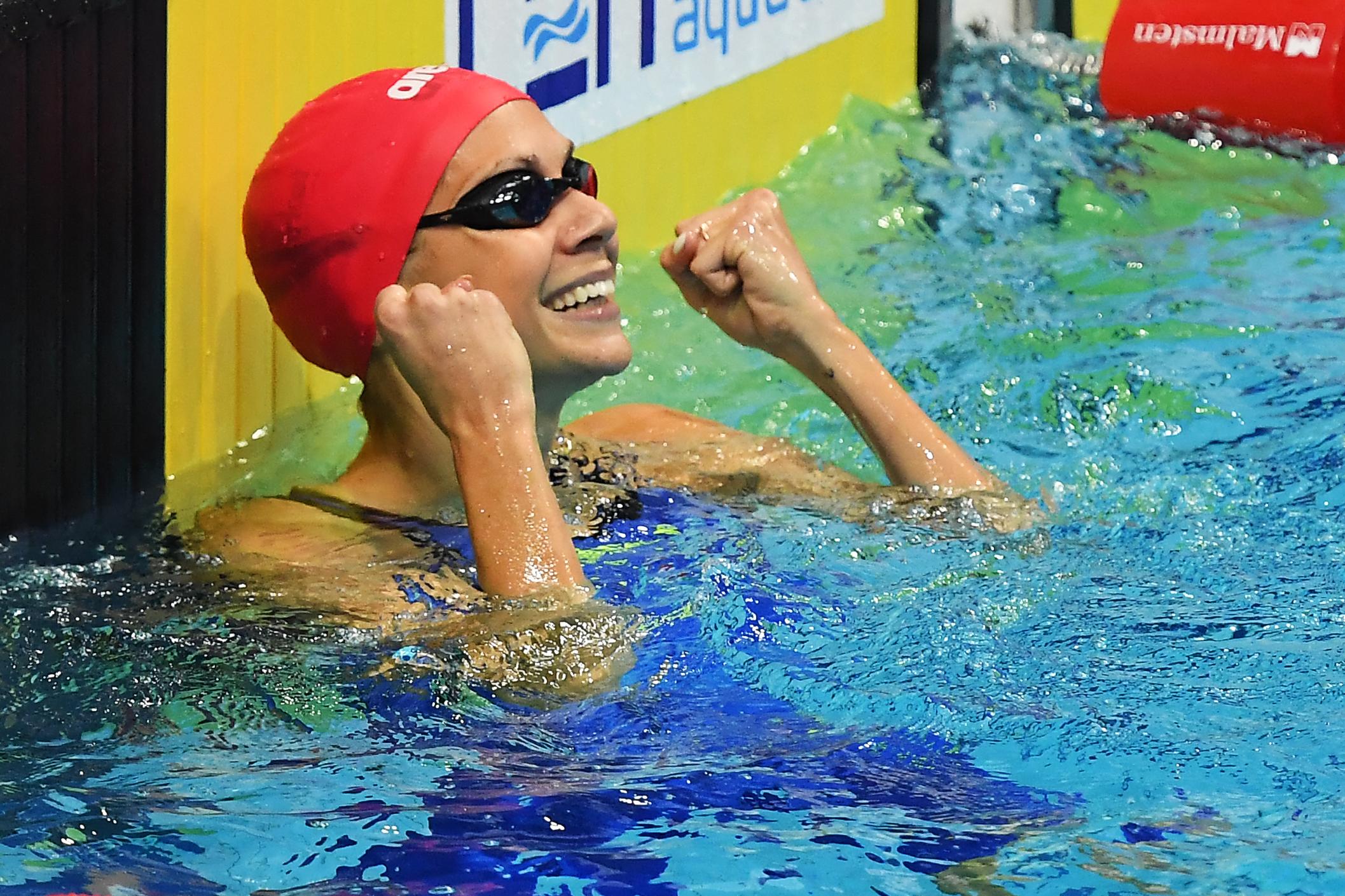 Ezüstérmes lett a magyar női 4x200 méteres gyorsváltó