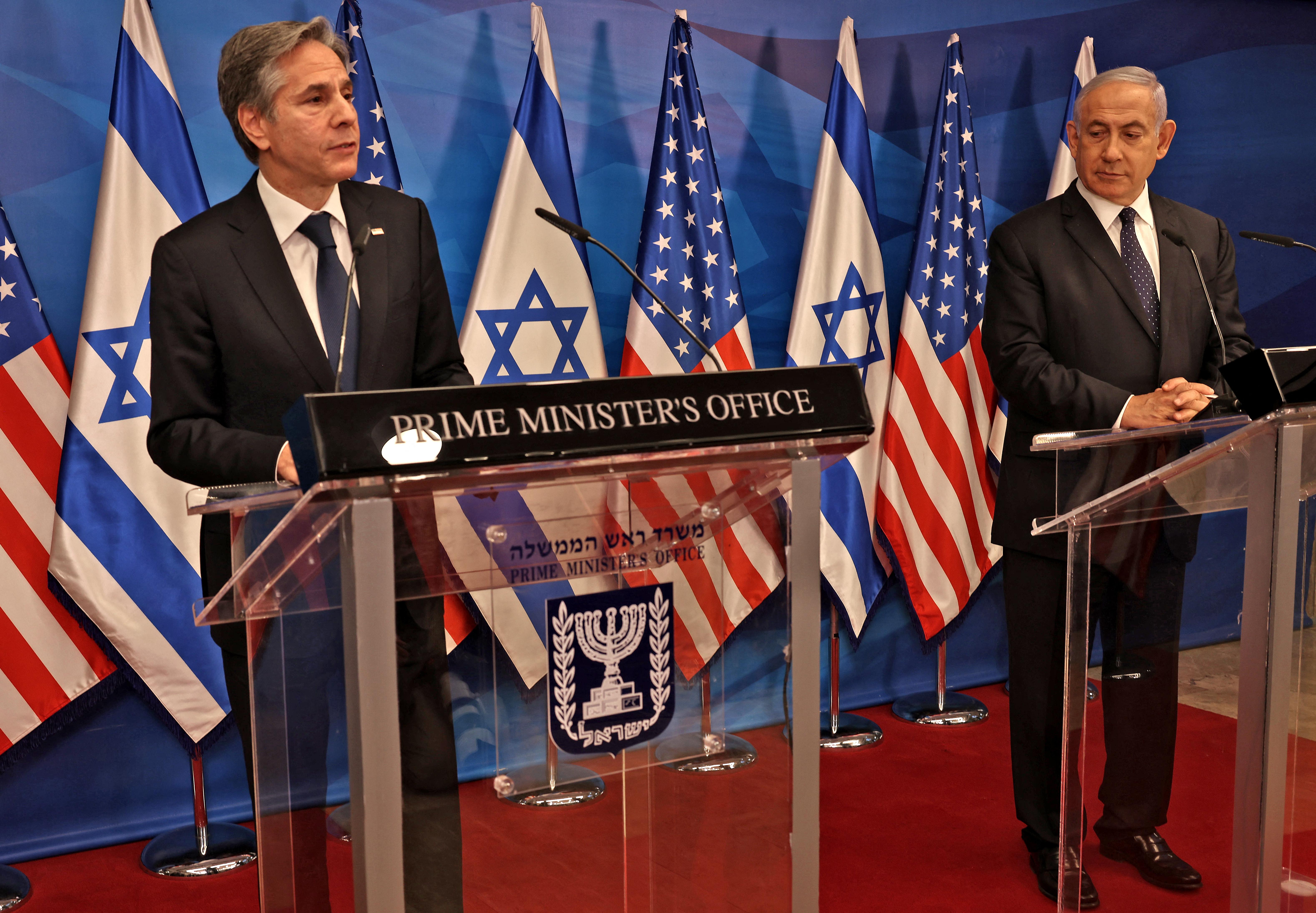 Blinken: Az Egyesült Államok segít Gázának, de nem a Hamásznak