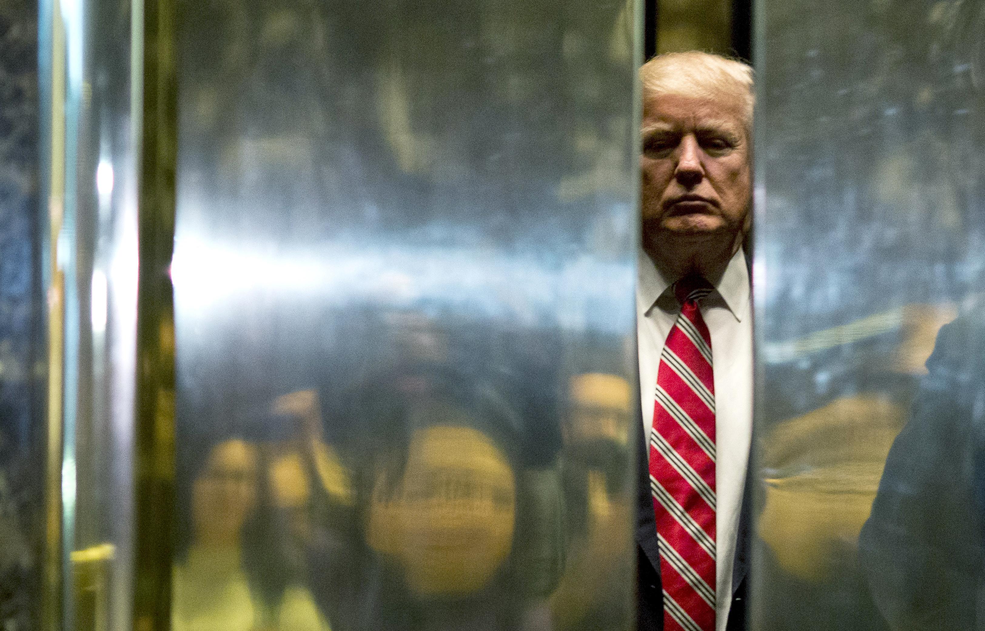 Trump blogjának annyi