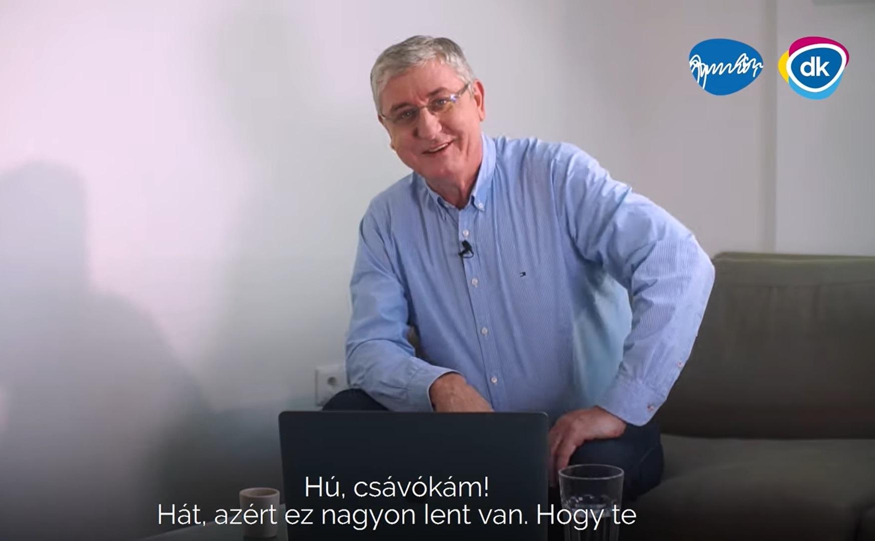 Gyurcsány Orbánnak: Hú csávókám, hát ez nagyon lent van!