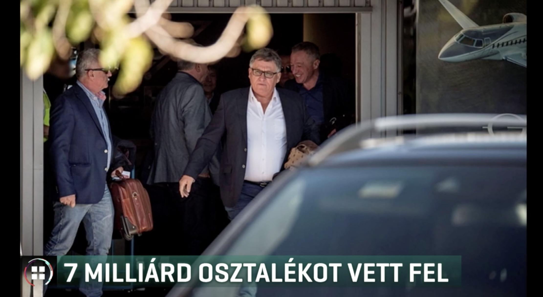 Szíjj Lászlót nem viselte meg a válság: 7 milliárdot vett ki a Duna Aszfaltból