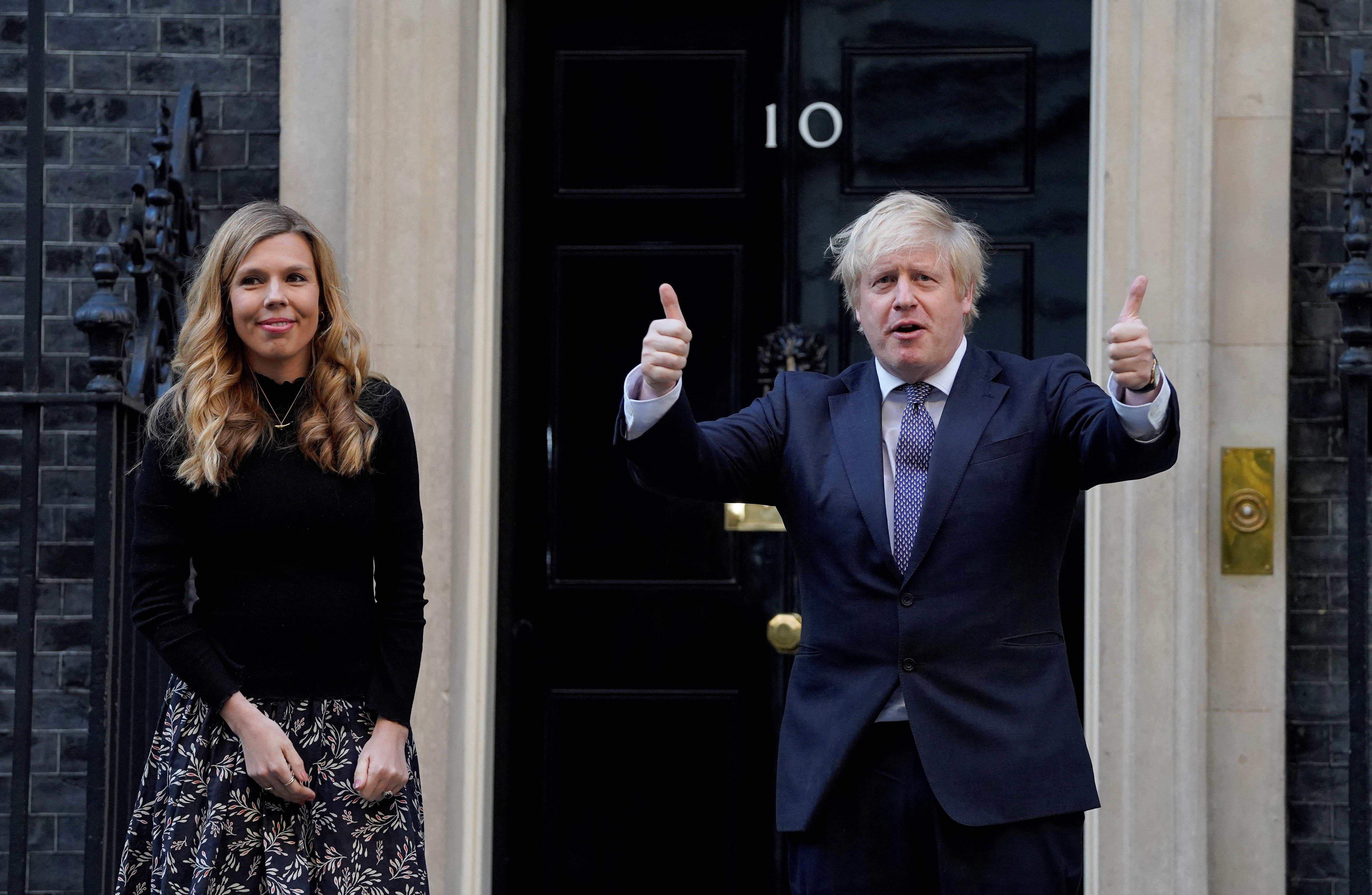 Boris Johnson titokban megnősült