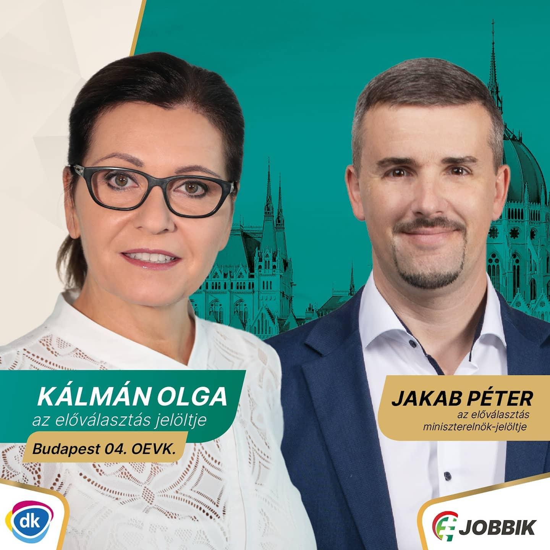 A Jobbik beállt Kálmán Olga mögé az előválasztáson