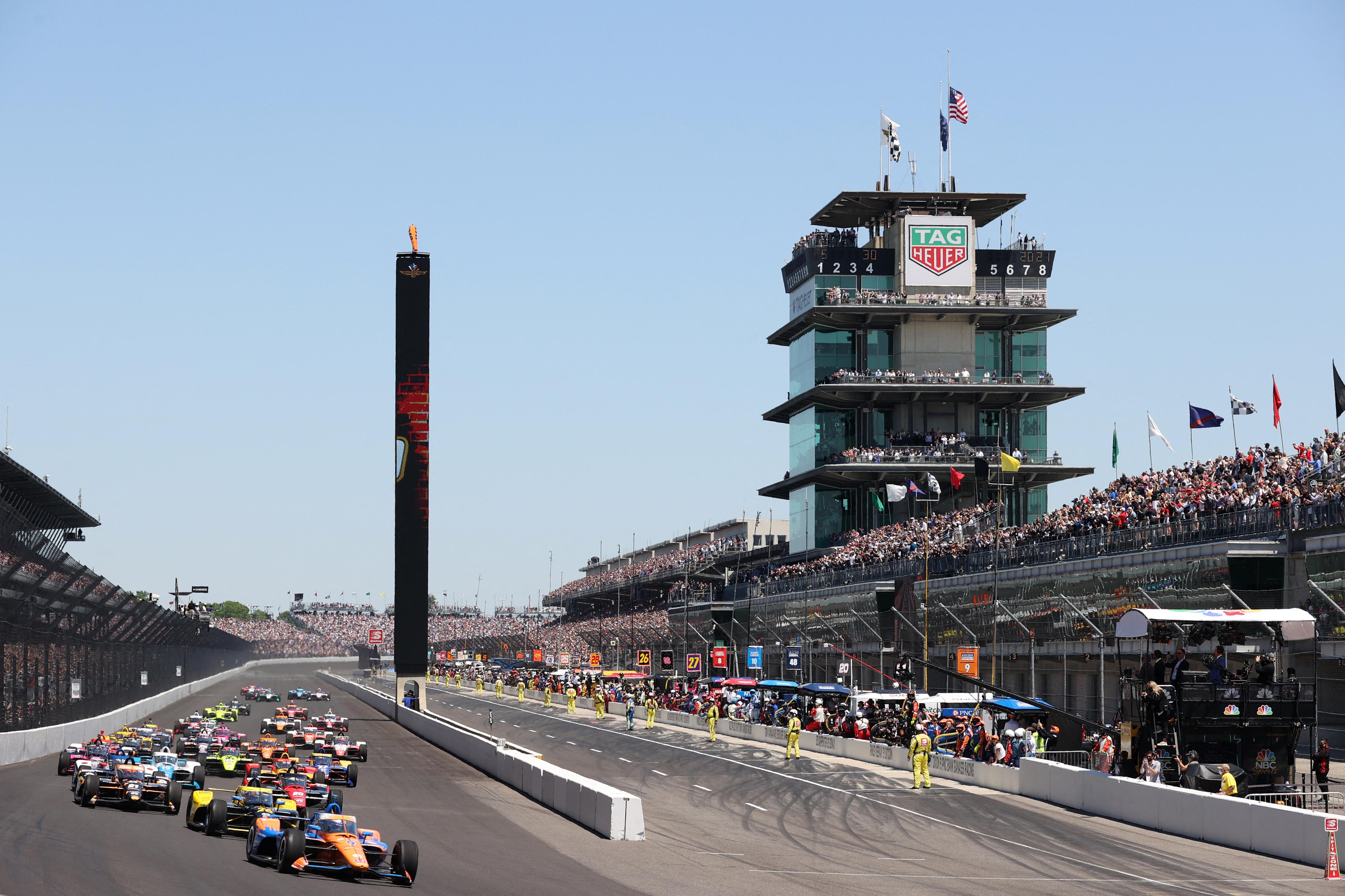 Euforikus autóverseny Indianapolisban