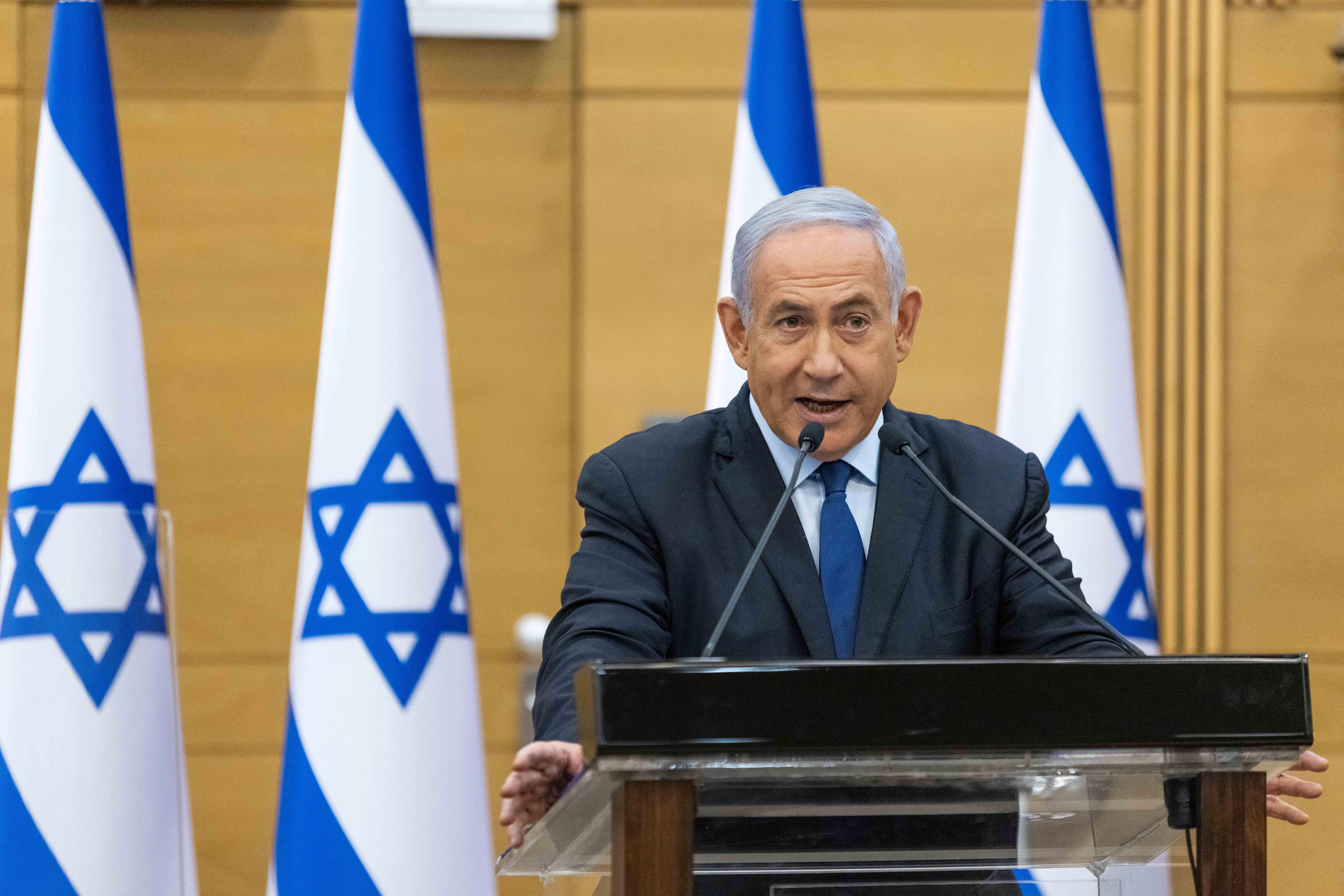 Netanjahu szerint egy koalíciós kormány veszélyeztetné Izrael jövőjét