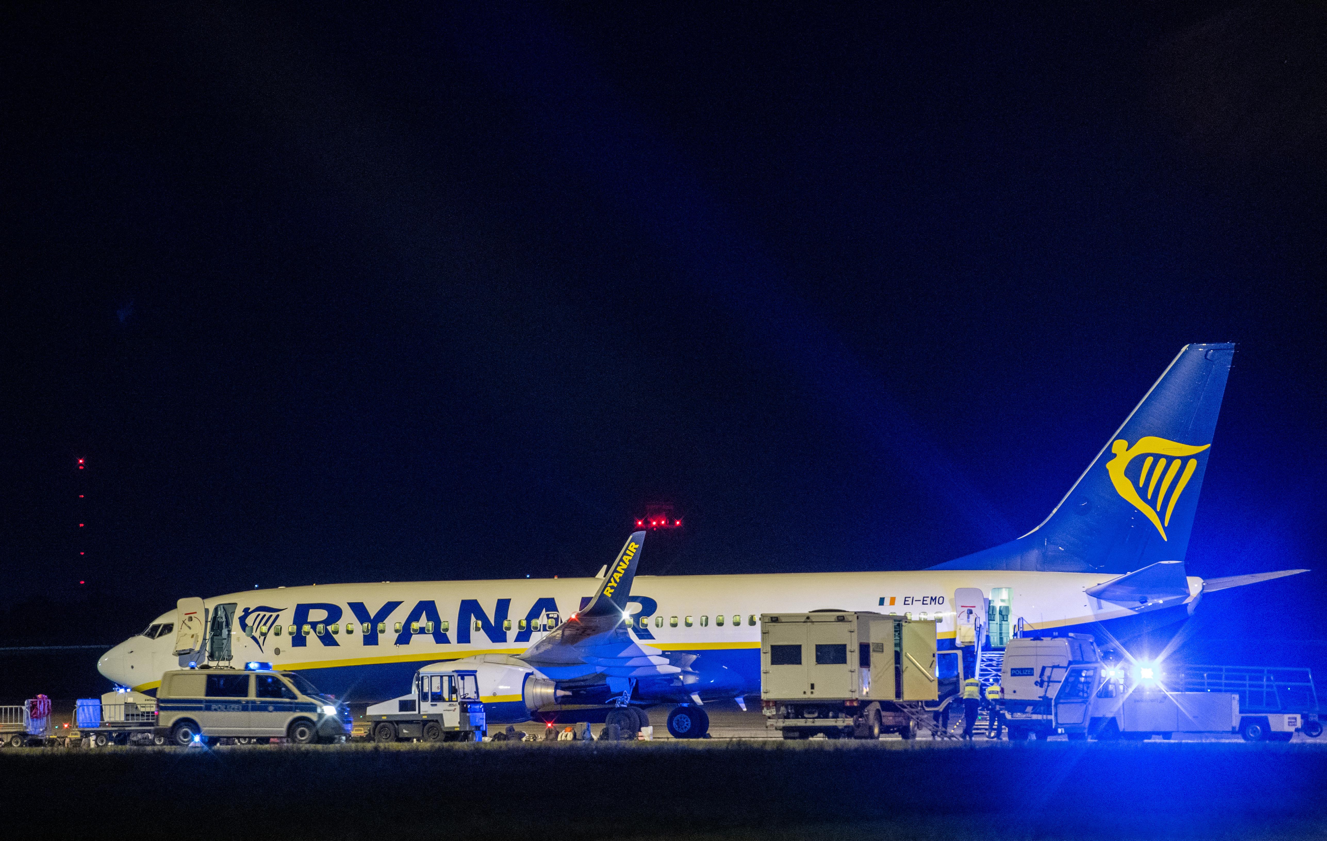 Kényszerleszállást hajtott végre a Ryanair repülőgépe Berlinben
