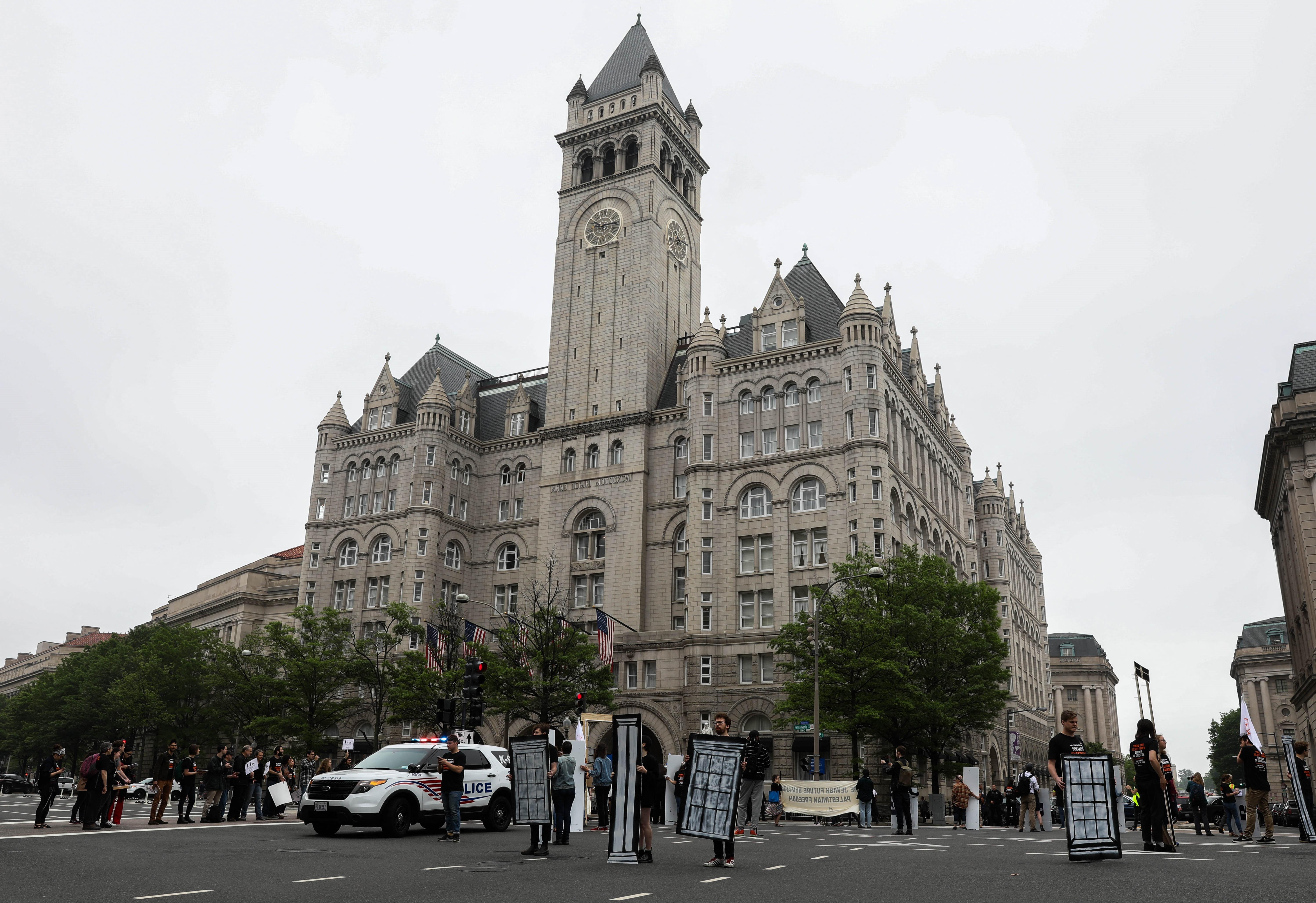 Eladó a washingtoni Trump hotel bérleti joga