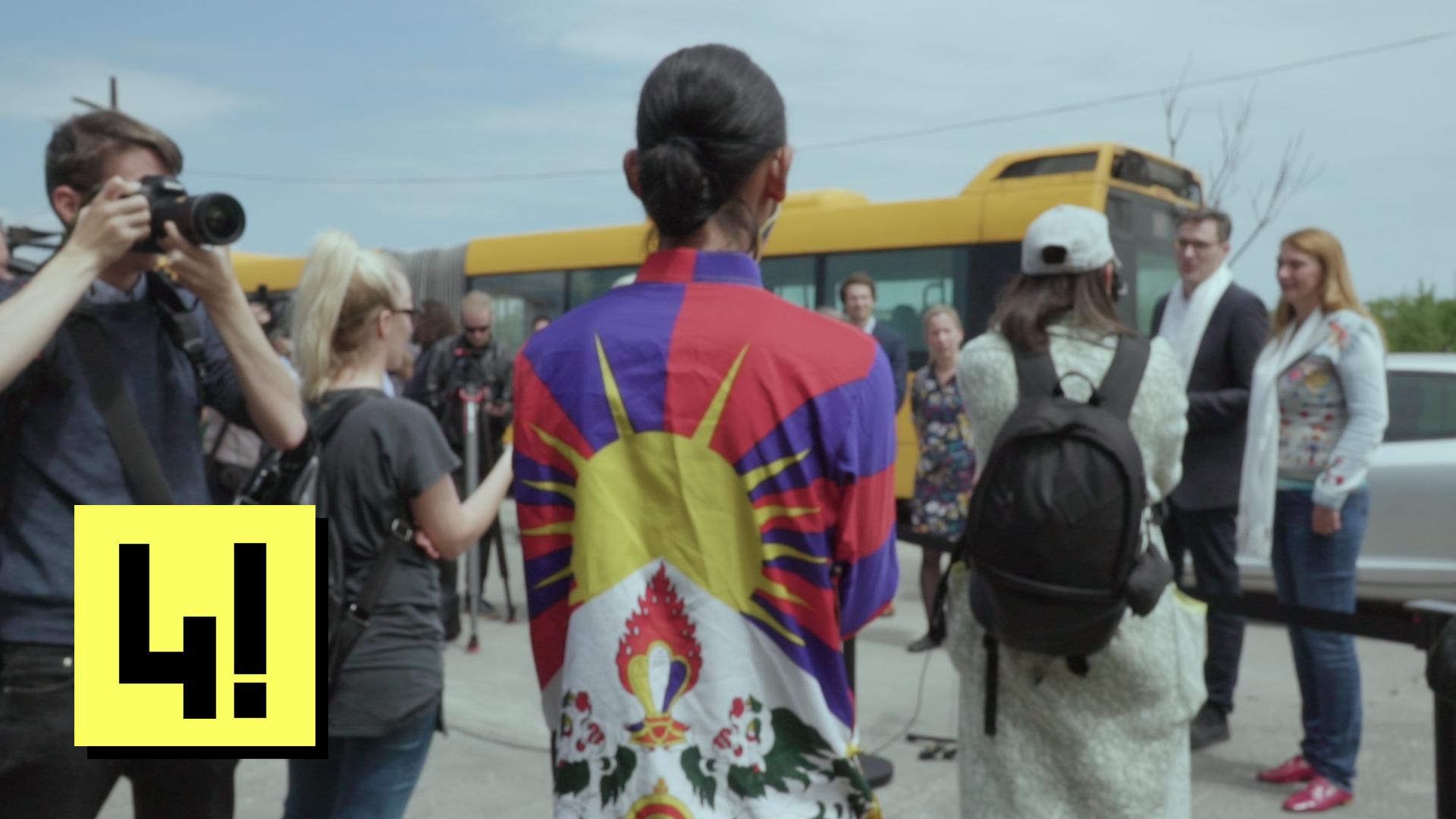 Nagy reményt ad az itt élő tibetieknek, hogy utcát neveztek el a dalai lámáról Budapesten