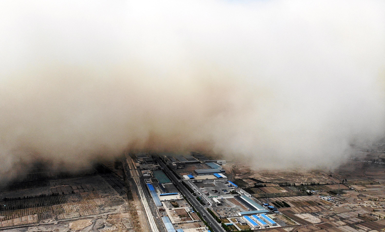 A mongóliai homokviharok modellezik, hogy mire számíthatunk, ha nem állunk le a környezetpusztítással