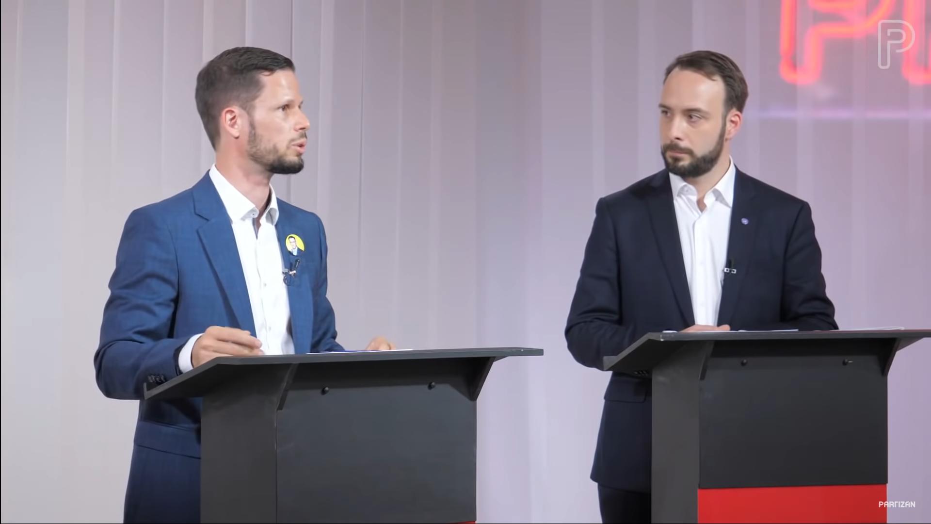 A momentumos Berg Dániel visszalép Tordai Bence javára az előválasztáson