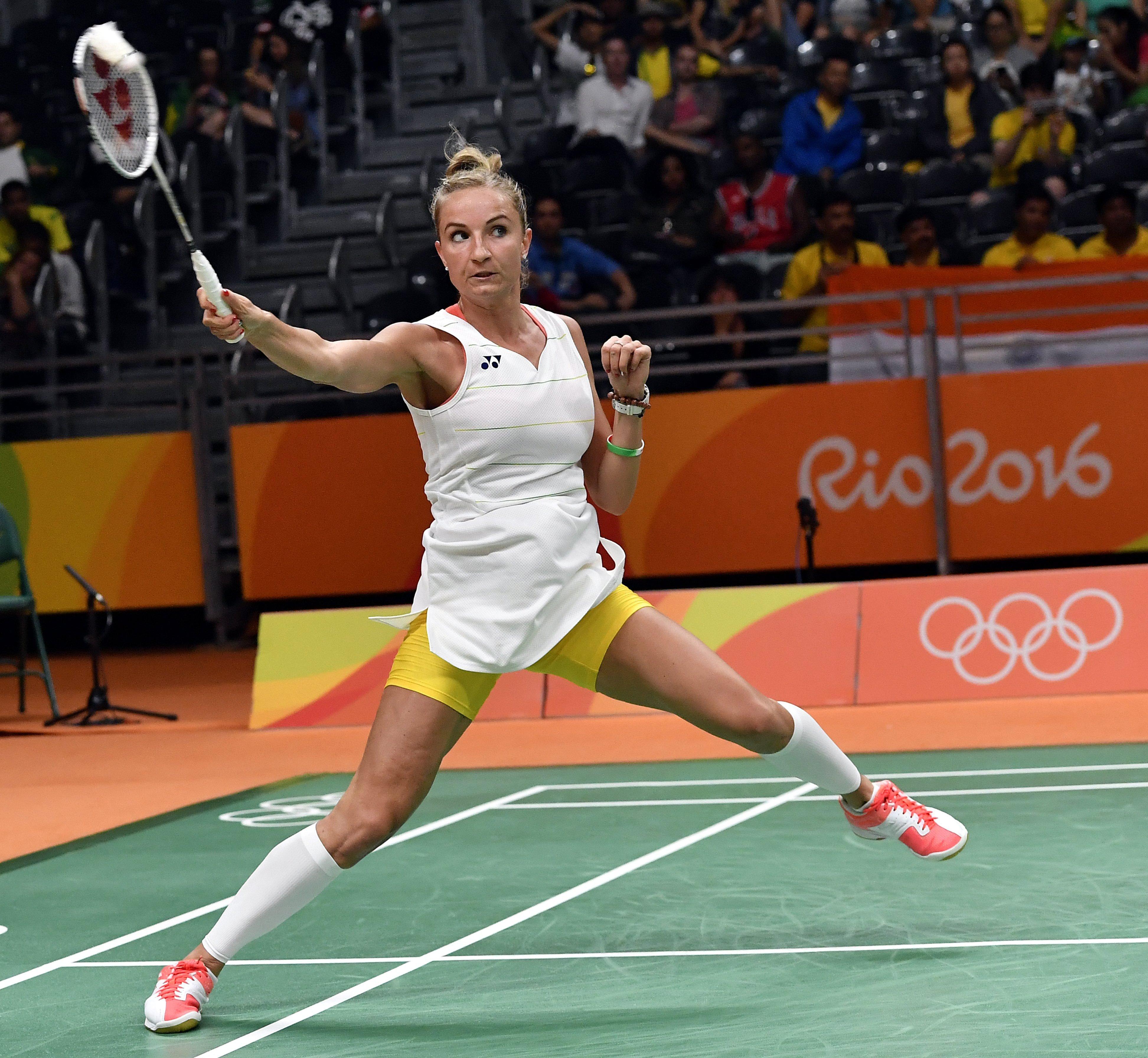 Kijutott az olimpiára Sárosi Laura tollaslabdázó