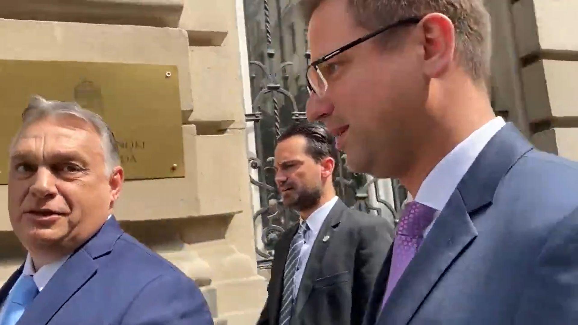 A Direkt36 újságíróját sem engedték be Orbán sajtótájékoztatójára, pedig lett volna mit kérdeznie