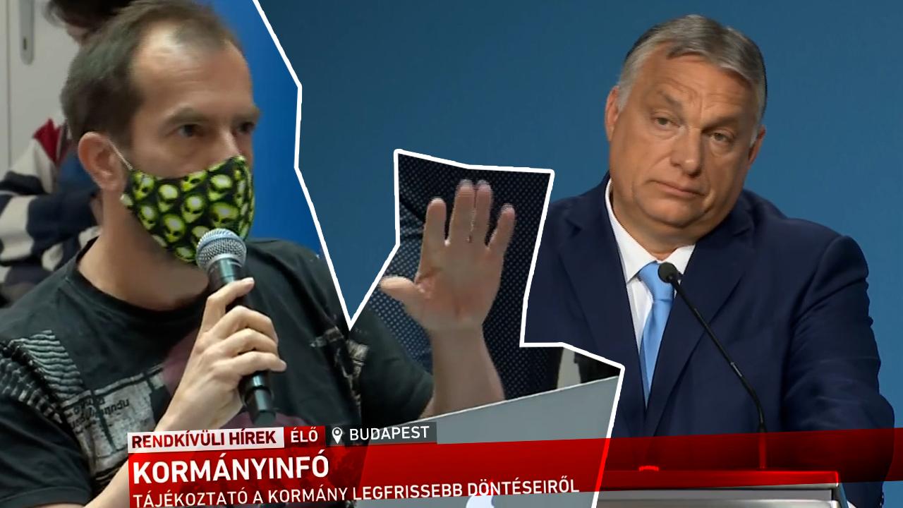 """Amikor vissza is lehet kérdezni, akkor Orbán már nem tud """"Európa legsikeresebb védekezéséről"""" beszélni"""