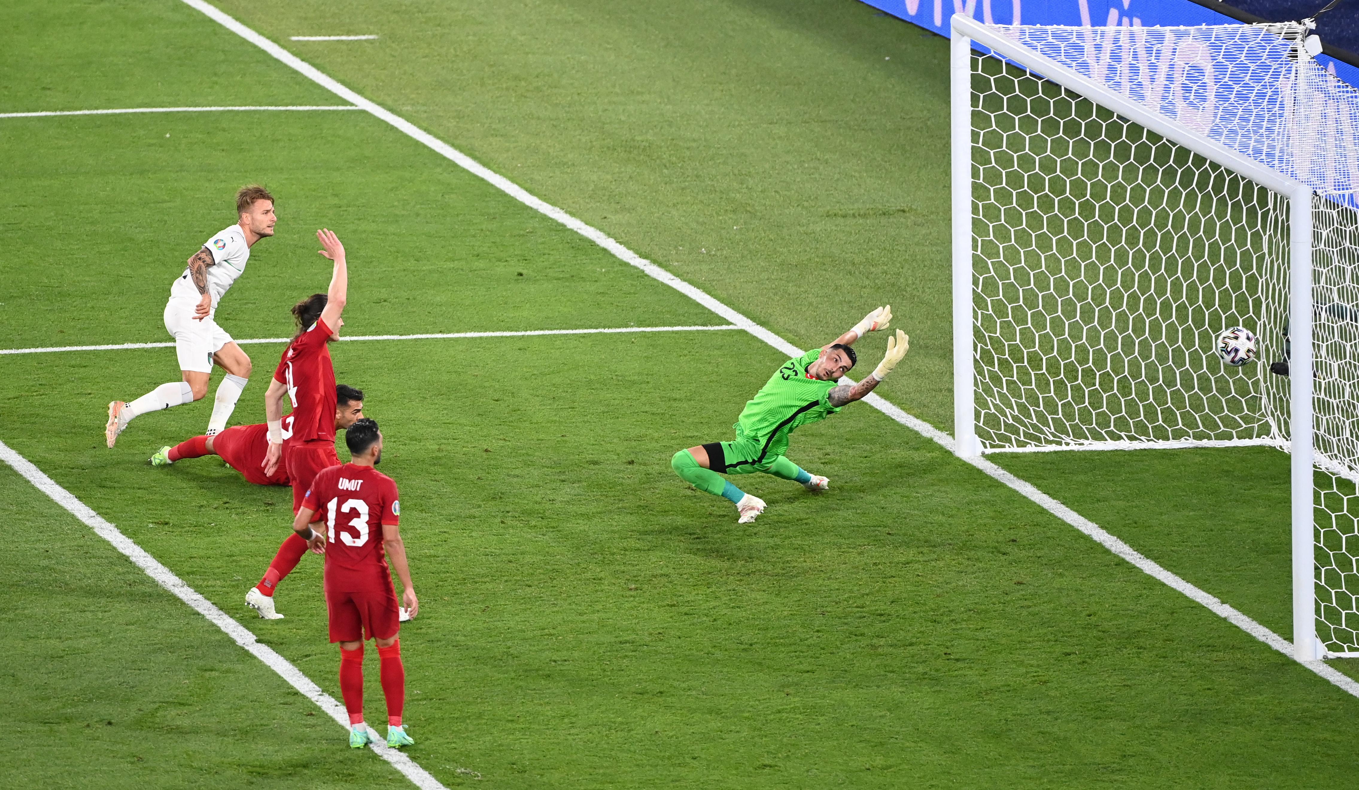 Nagyon sima olasz győzelemmel indult az Európa-bajnokság
