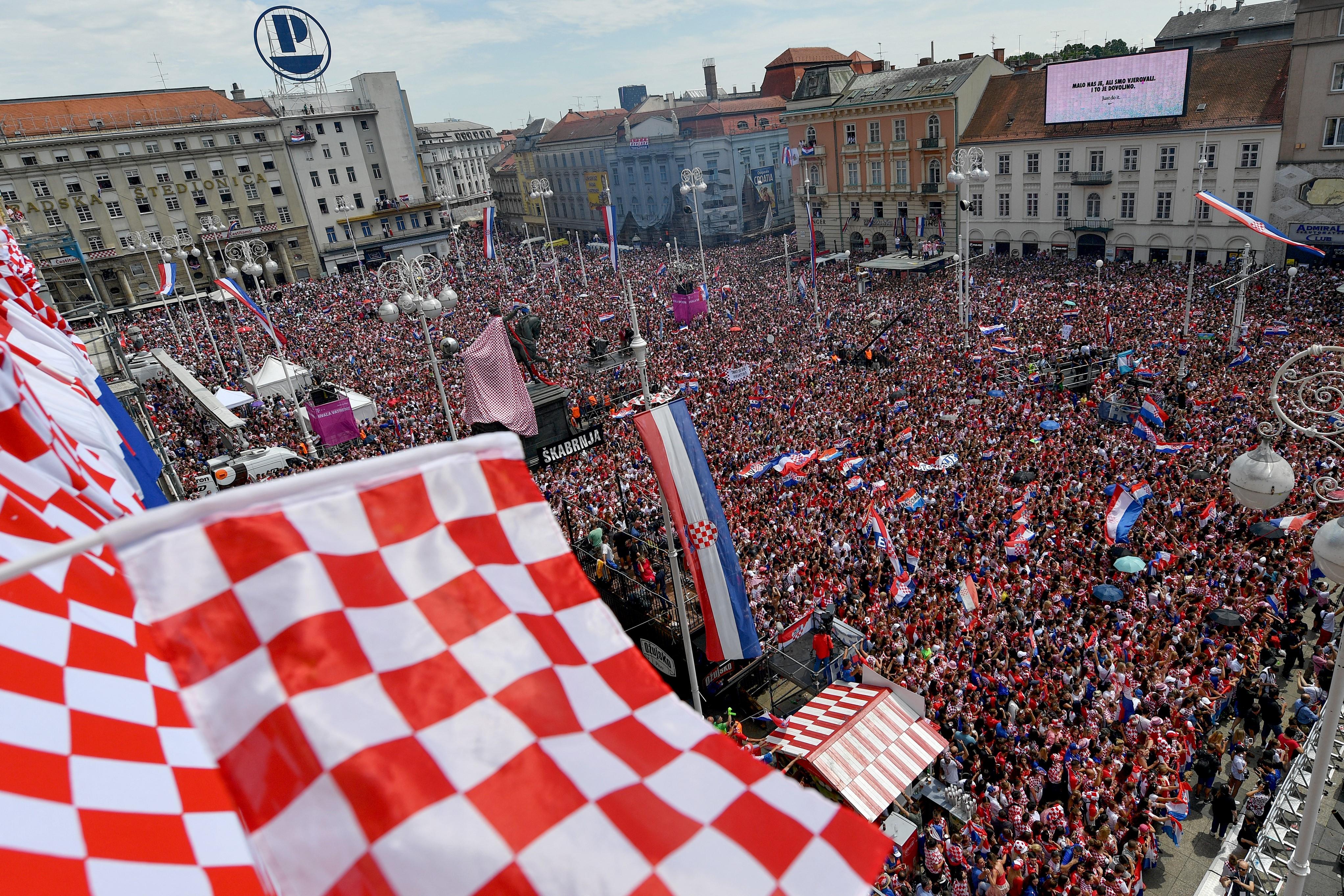 A horvát belügyminiszter szerint kockázatosak a tömeges meccsnézések