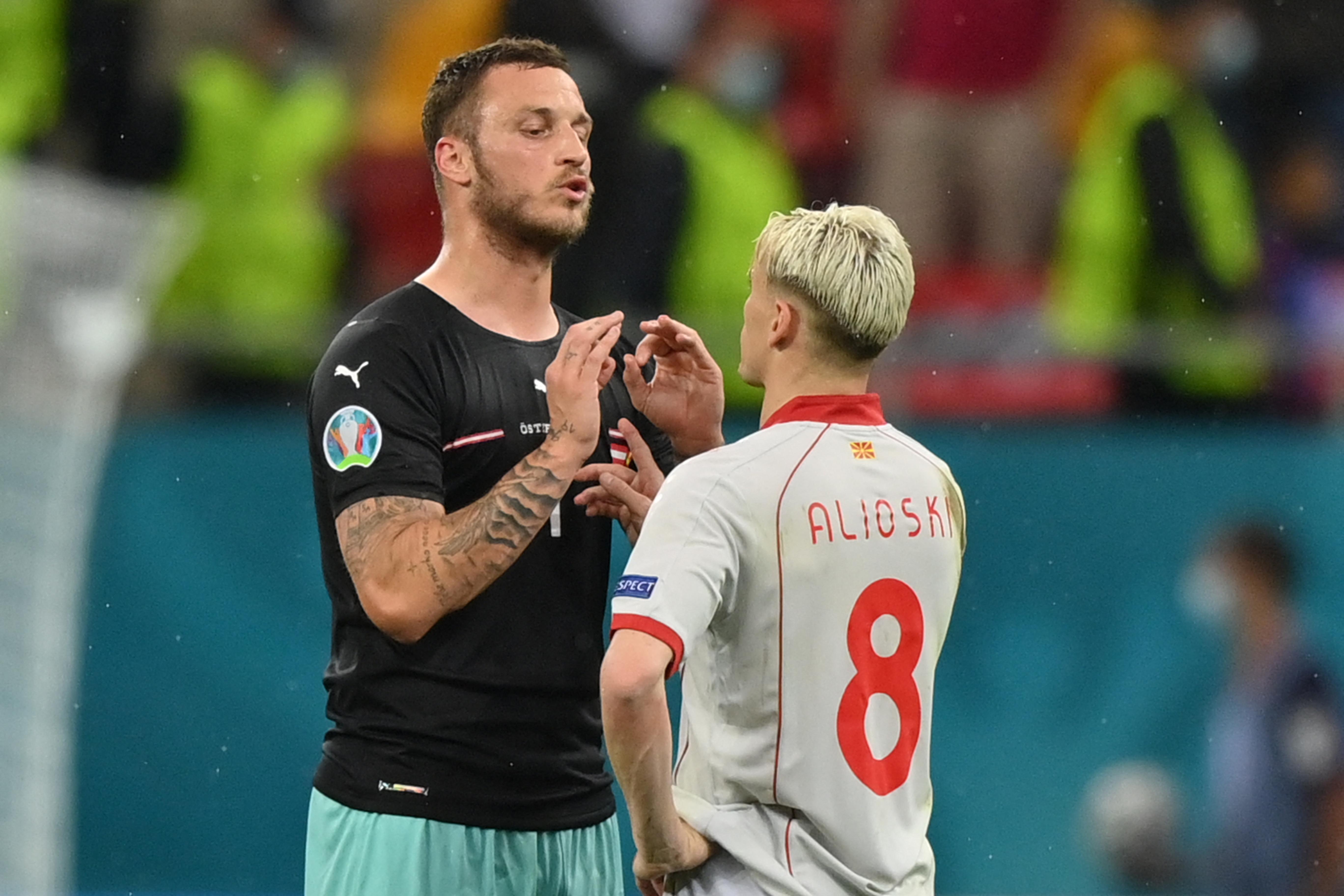 Az Észak-Macedóniai Futballszövetség azt kéri az UEFA-tól, hogy büntessék meg Arnautovićot nacionalista kirohanása miatt