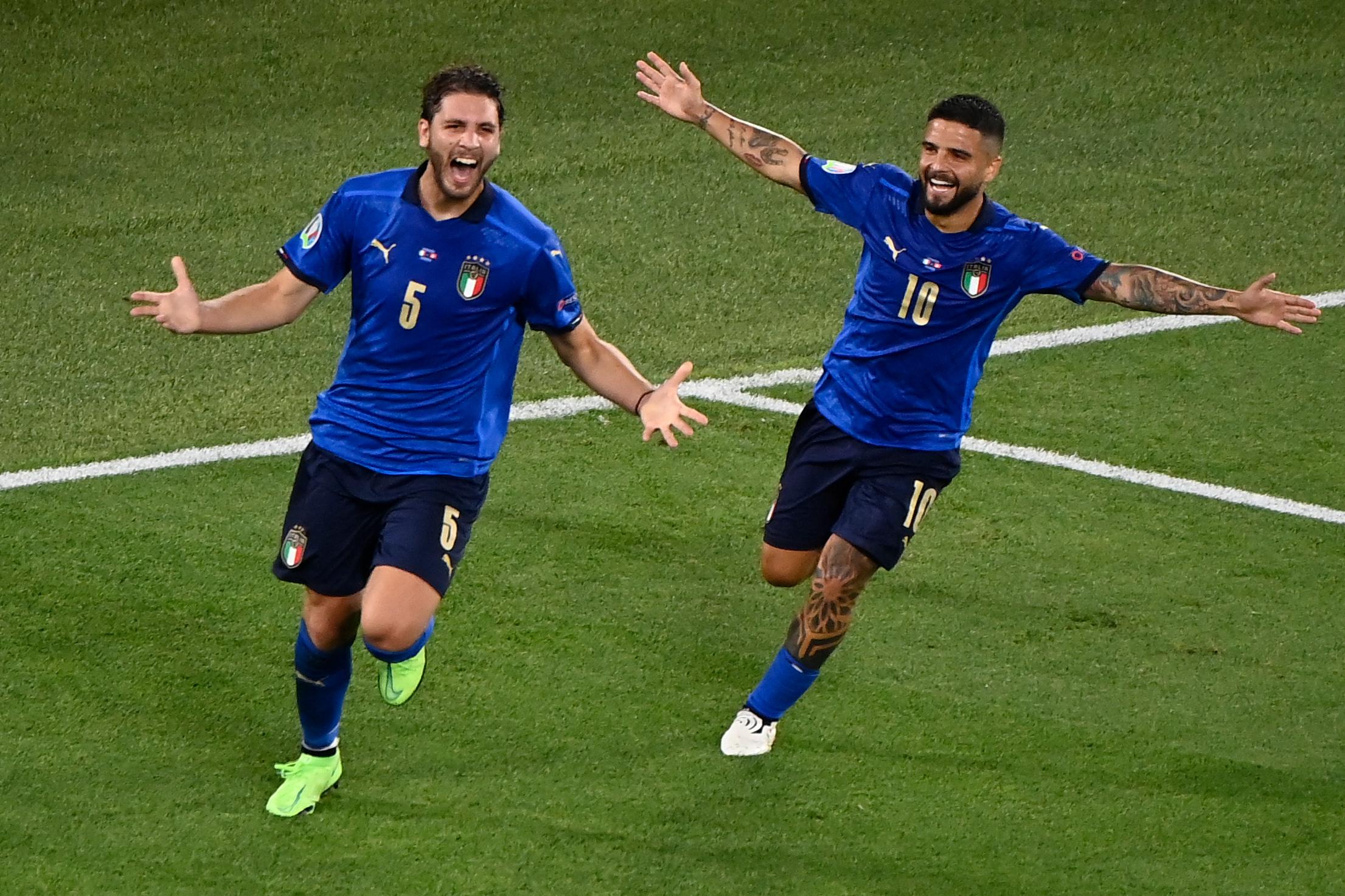 Olaszország az első továbbjutó az Európa-bajnokságon