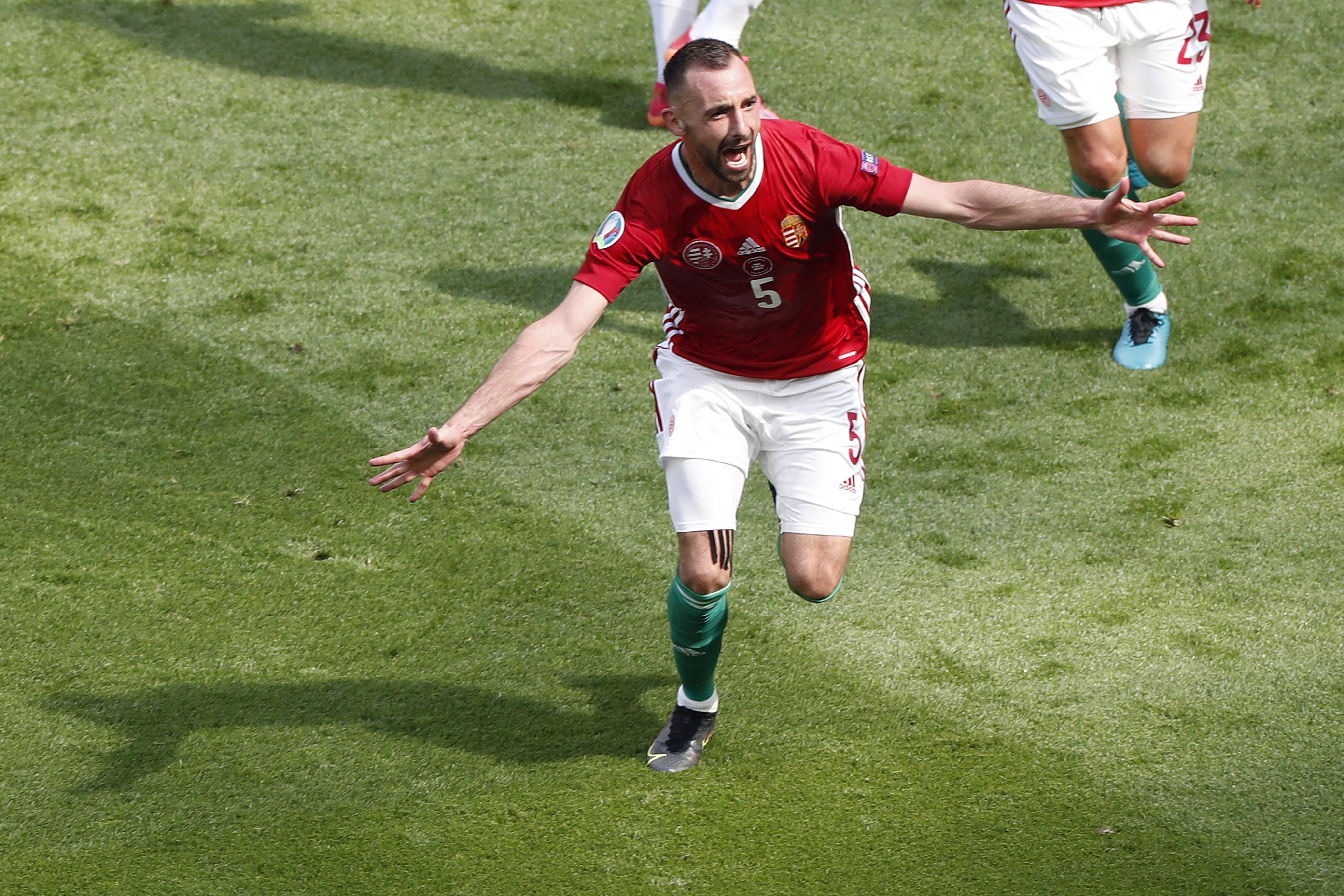 Fiola Attila elnézést kért Szalay Edittől, hogy a gólját ünnepelve ráijesztett