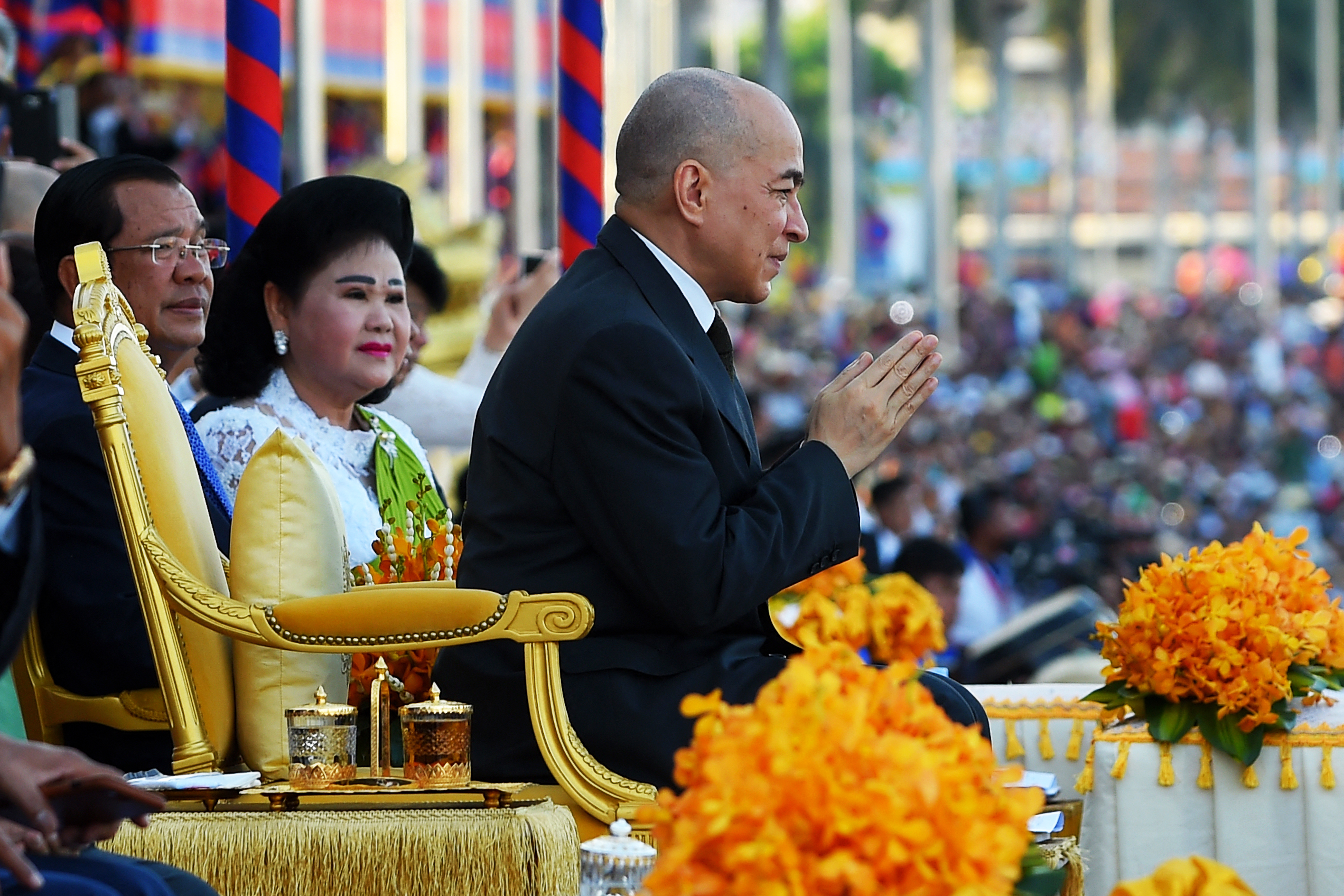 """Akár 10 év börtönt is kaphatnak a környezetvédők, akik állítólag """"megsértették"""" Kambodzsa királyát"""