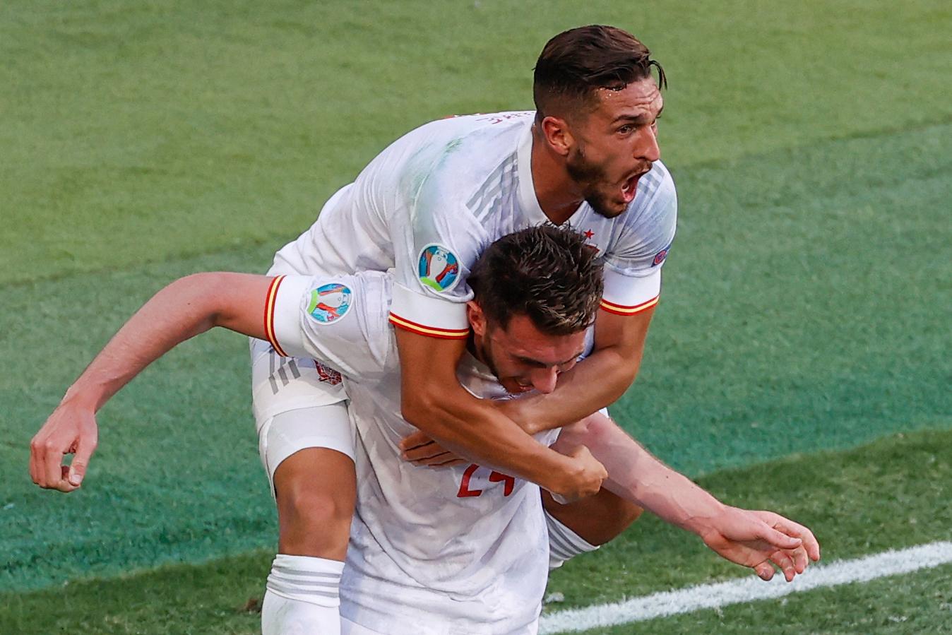 Spanyolország megérkezett az Európa-bajnokságra