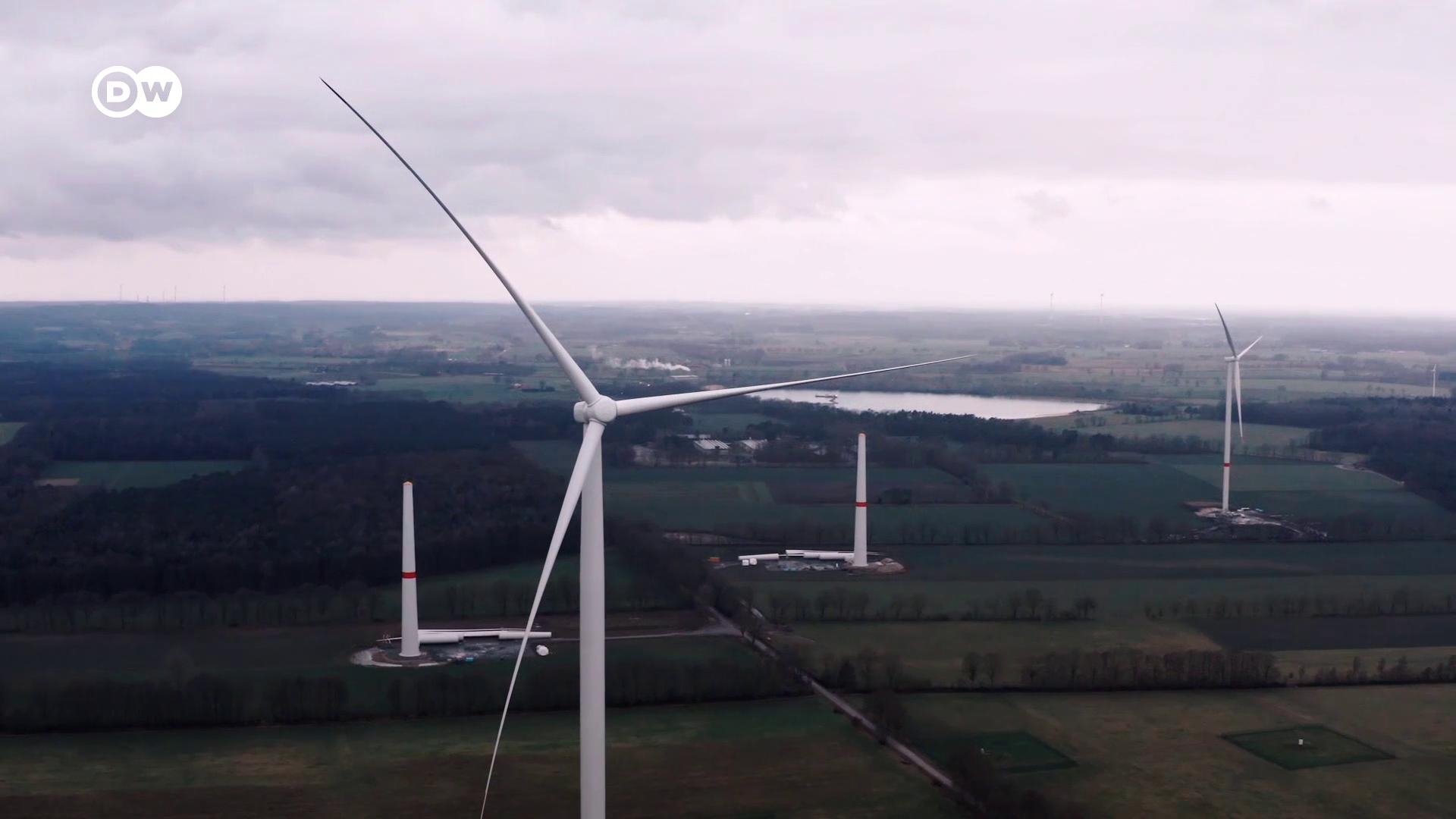 Szélerőművek építésével érné el a karbonsemlegességet Németország