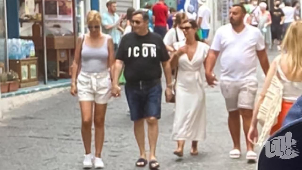 Mészáros Lőrinc Dél-Olaszországban nyaral