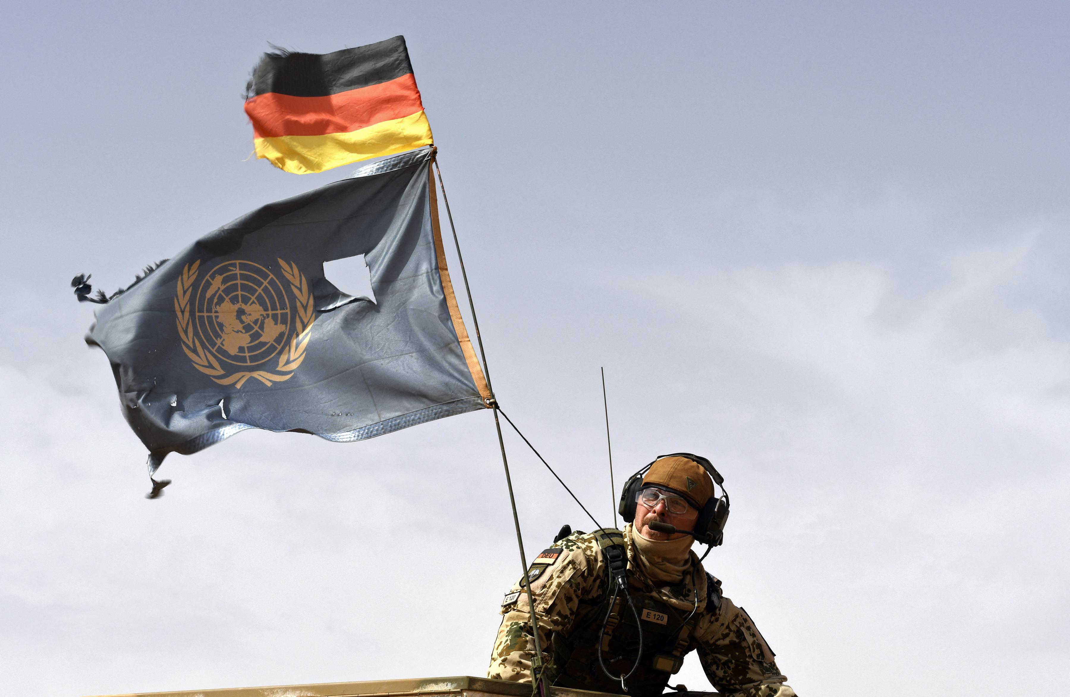 Tizenkét német békefenntartó sérült meg Maliban