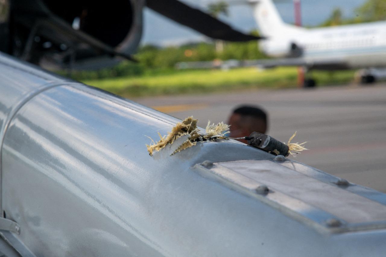 Rálőttek a kolumbiai elnök helikopterére