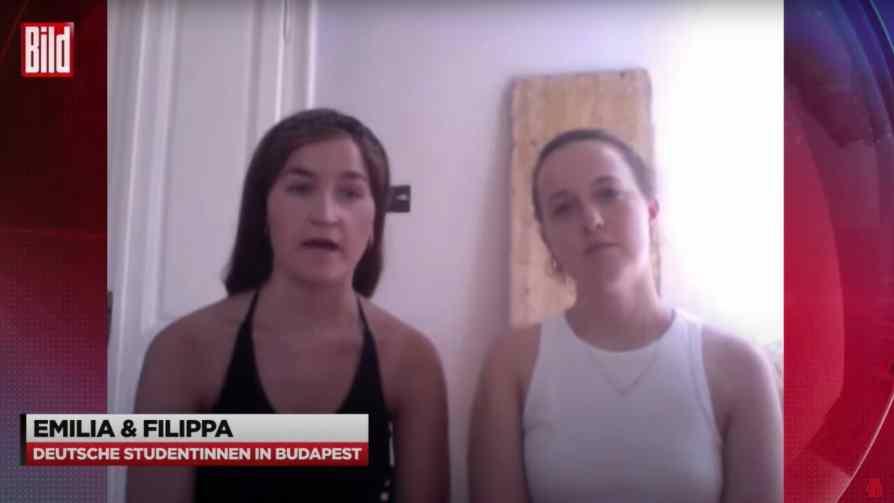 Elfogták a német szurkolólányokat leköpő két magyar férfit