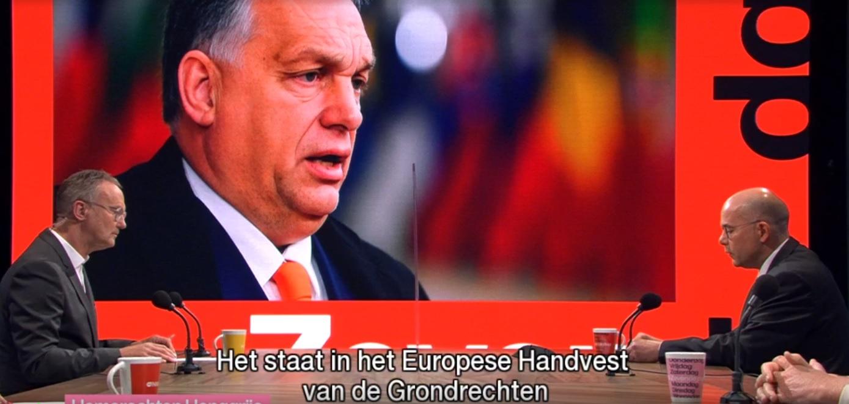 A flamand köztévé egy stúdióba ültette a magyar nagykövetet és a transzgender miniszterelnök-helyettest