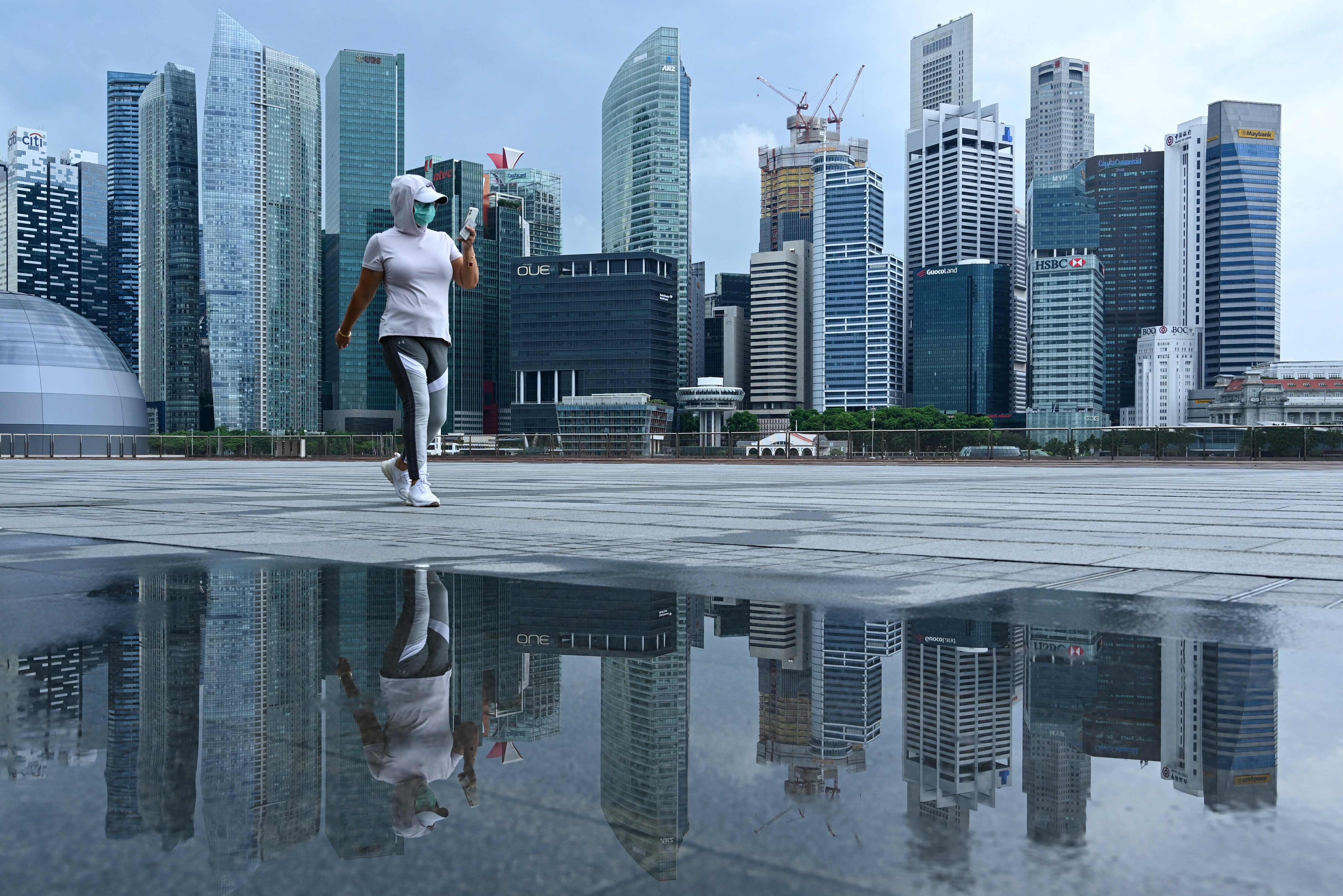 Szingapúrban kitalálták a járvány utáni világot