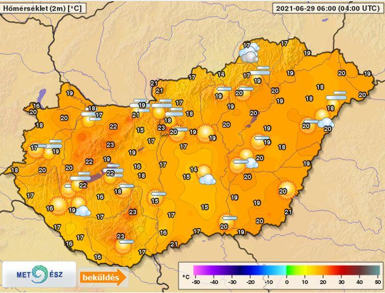 Hőségriadó! Iszonyatos meleg lesz ma!