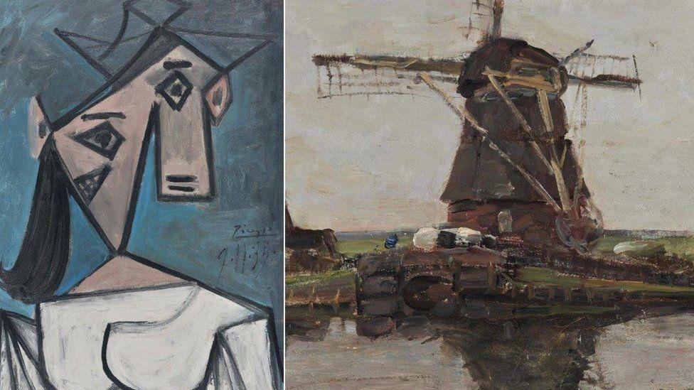 Csaknem tíz év után megkerült a Görög Nemzeti Galéria ellopott Picassója és Mondrianja