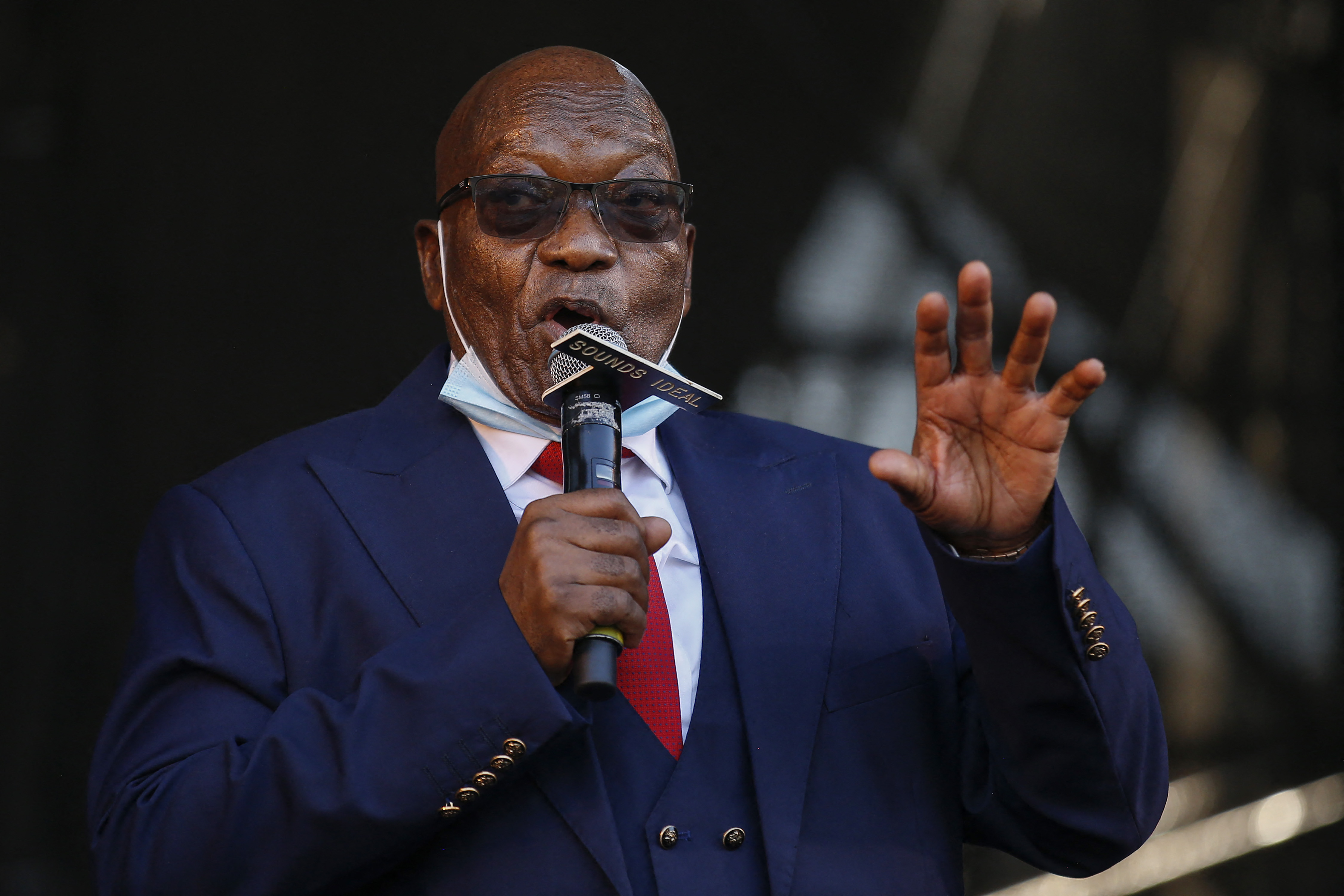 15 hónapra bebörtönzik Dél-Afrika volt elnökét
