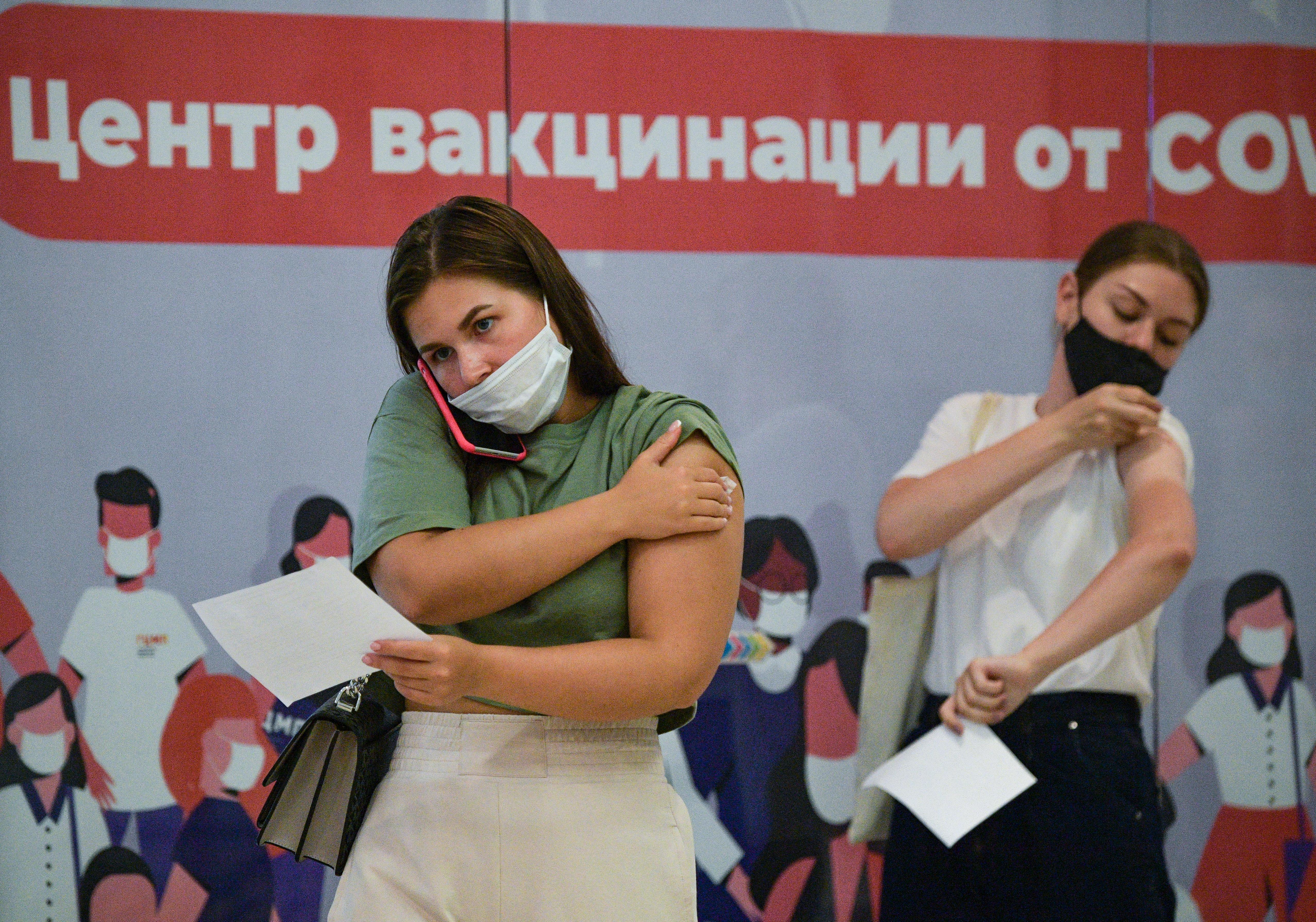 Oroszországban már harmadik oltásra is lehet jelentkezni