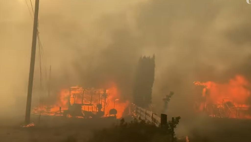 Porig égett a kanadai falu, ahol pár napja 49,6 fokot mértek