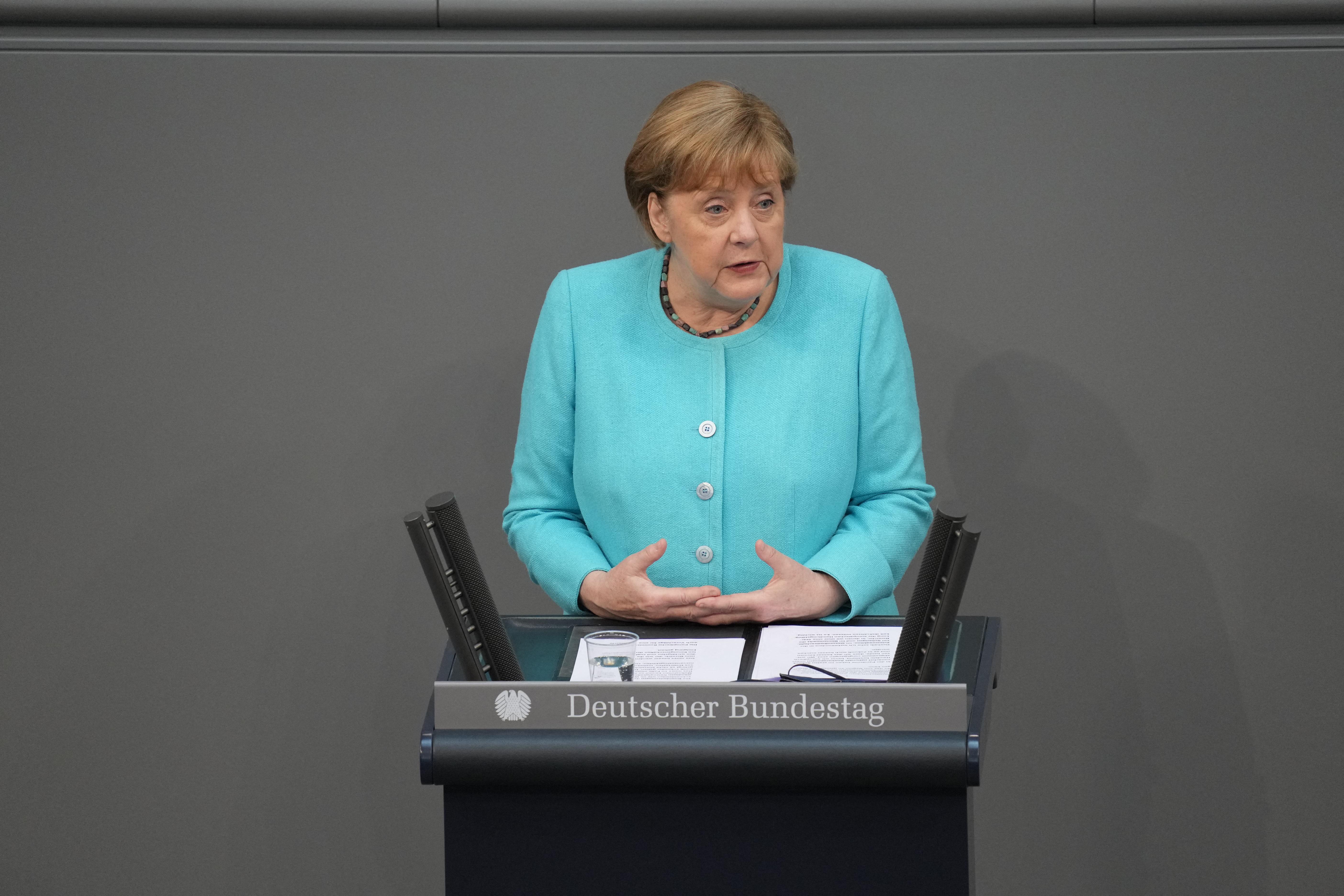 Angela Merkel elmondta utolsó beszédét a Bundestagban