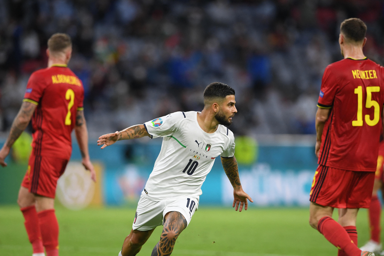 A két legjobb csapat meccsén az olaszok legyőzték a belgákat