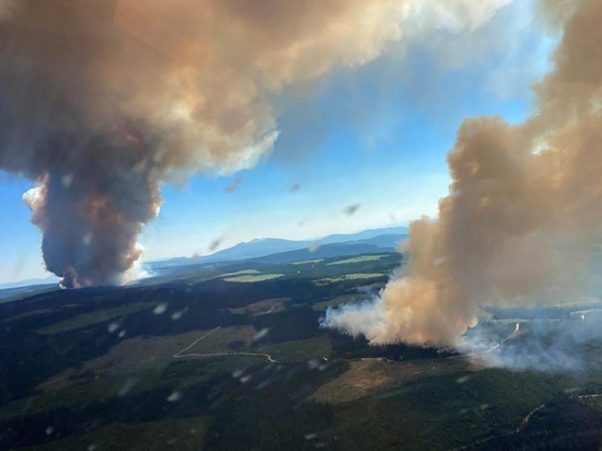 A hőhullám után most tüzek pusztítanak Kanada nyugati partvidékén