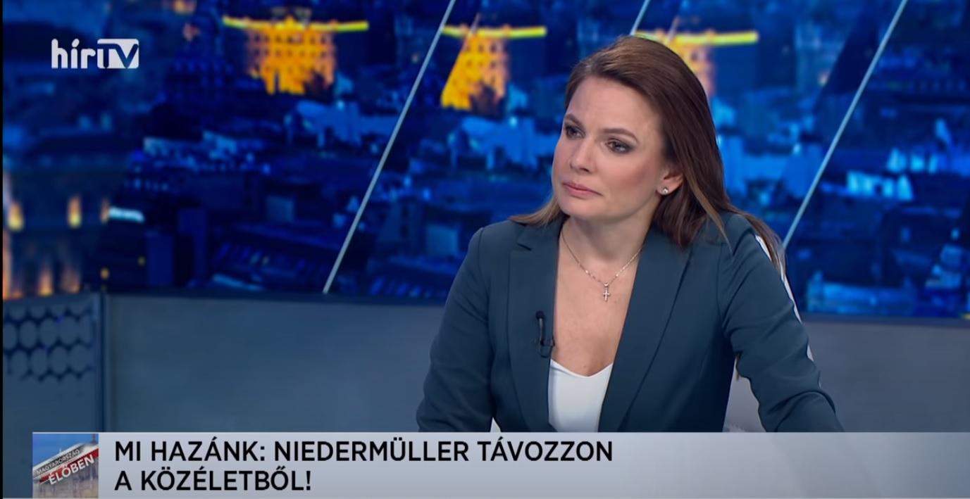 Felmondott Földi-Kovács Andrea a HírTV-nél