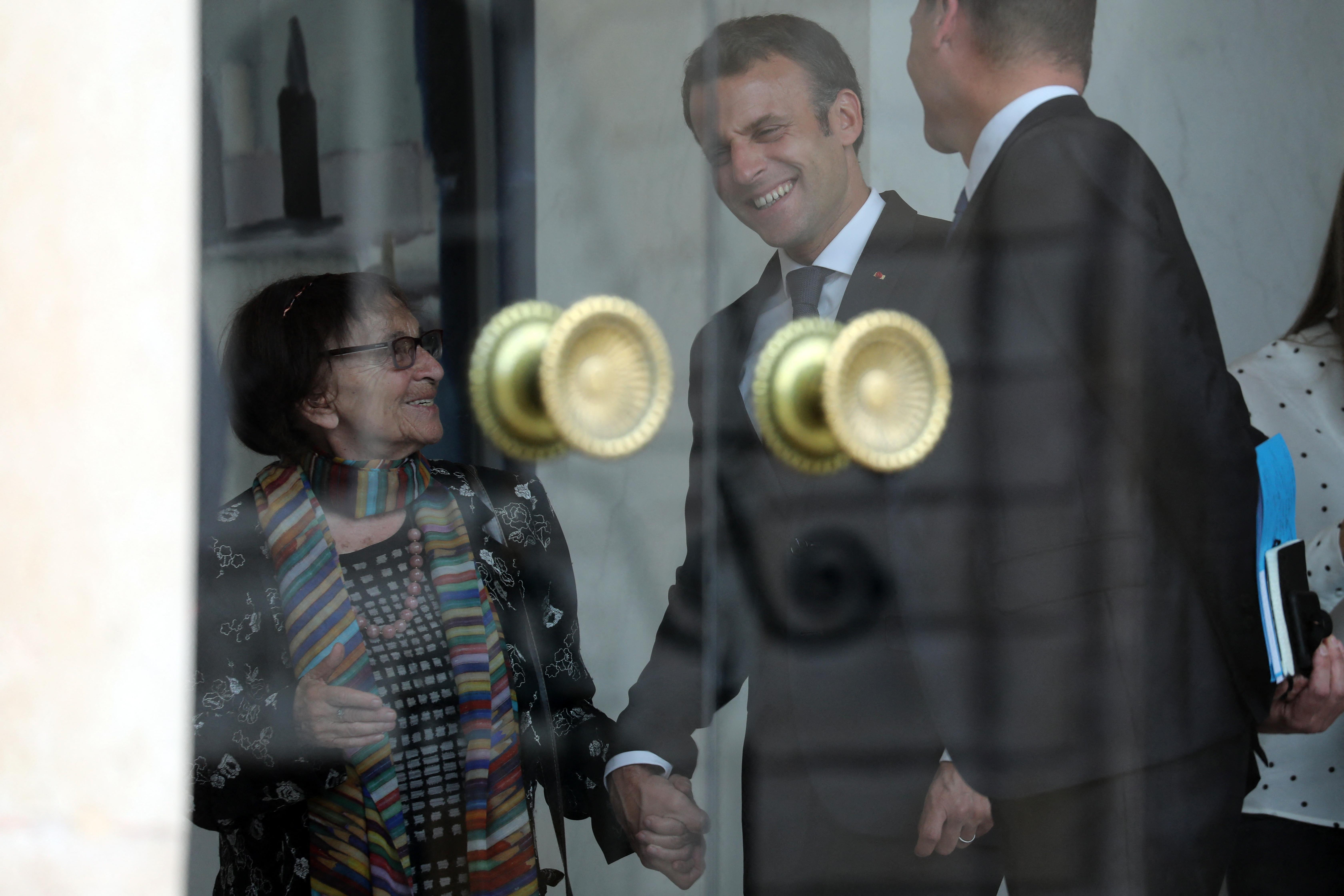 Egy nő, aki nagy hatást gyakorolt Macronra: Heller Ágnes