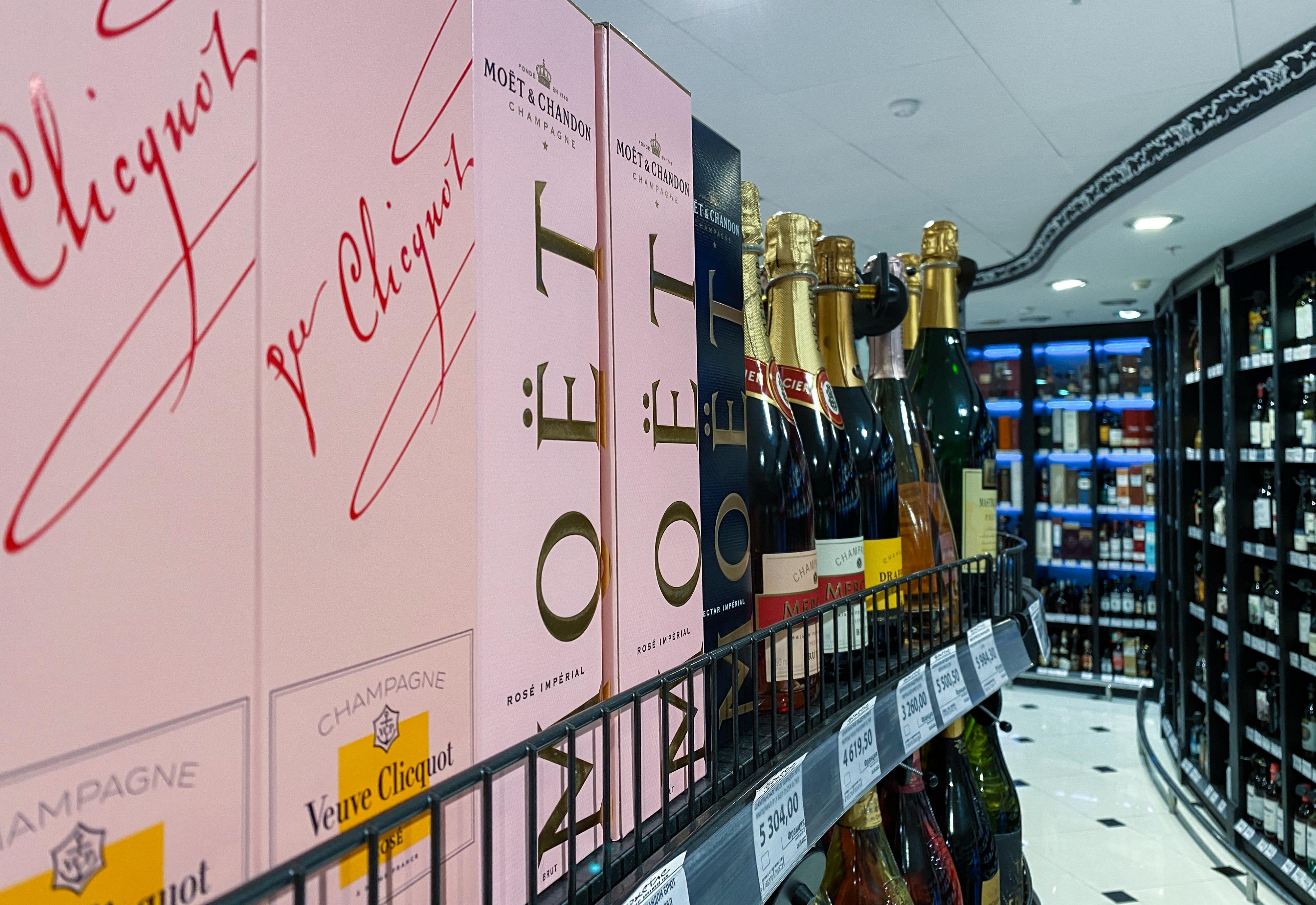 Az oroszok szerint csak az pezsgő, ami náluk készül