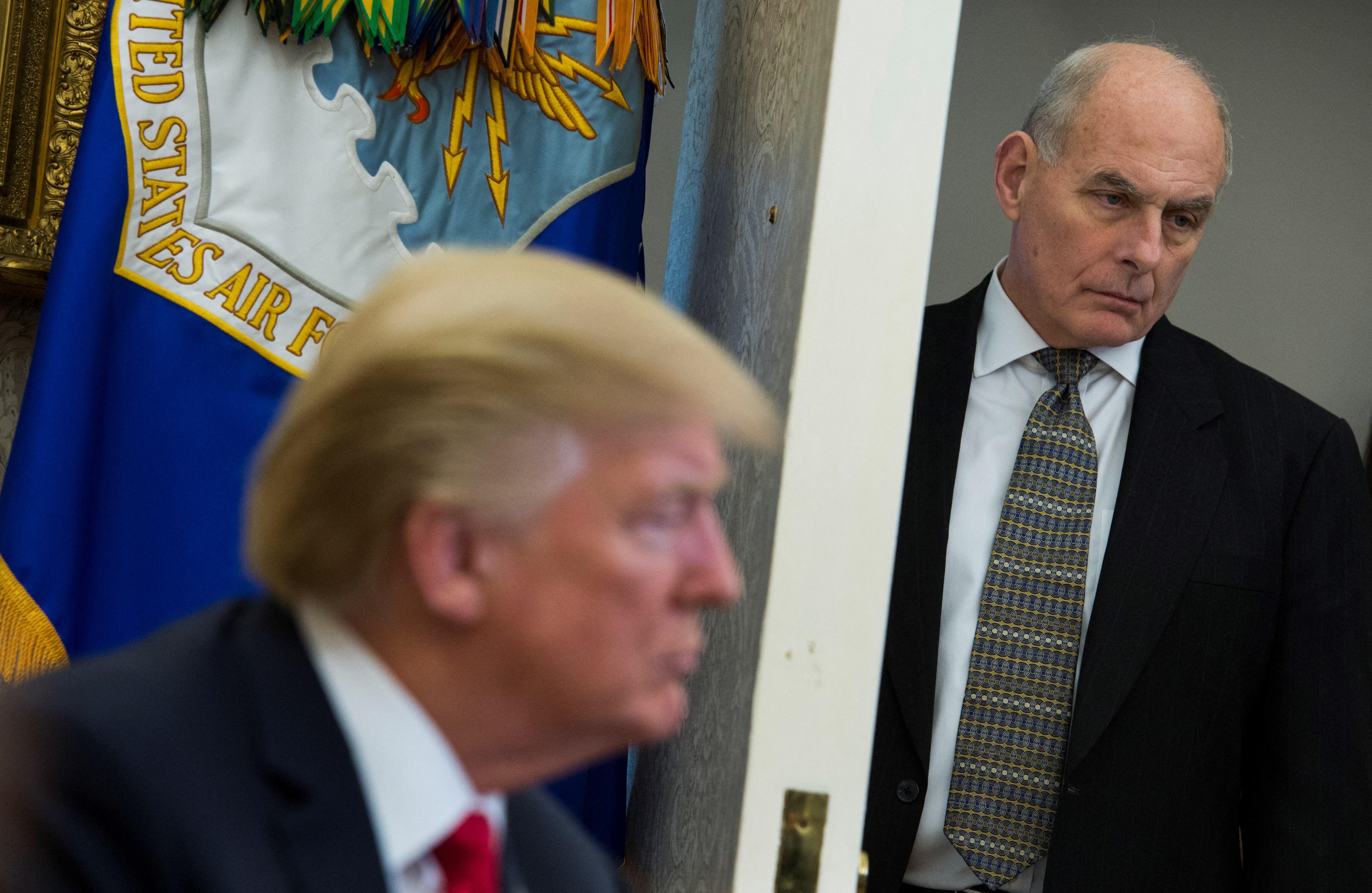 Hitler dicséretével sokkolta kabinetfőnökét Trump