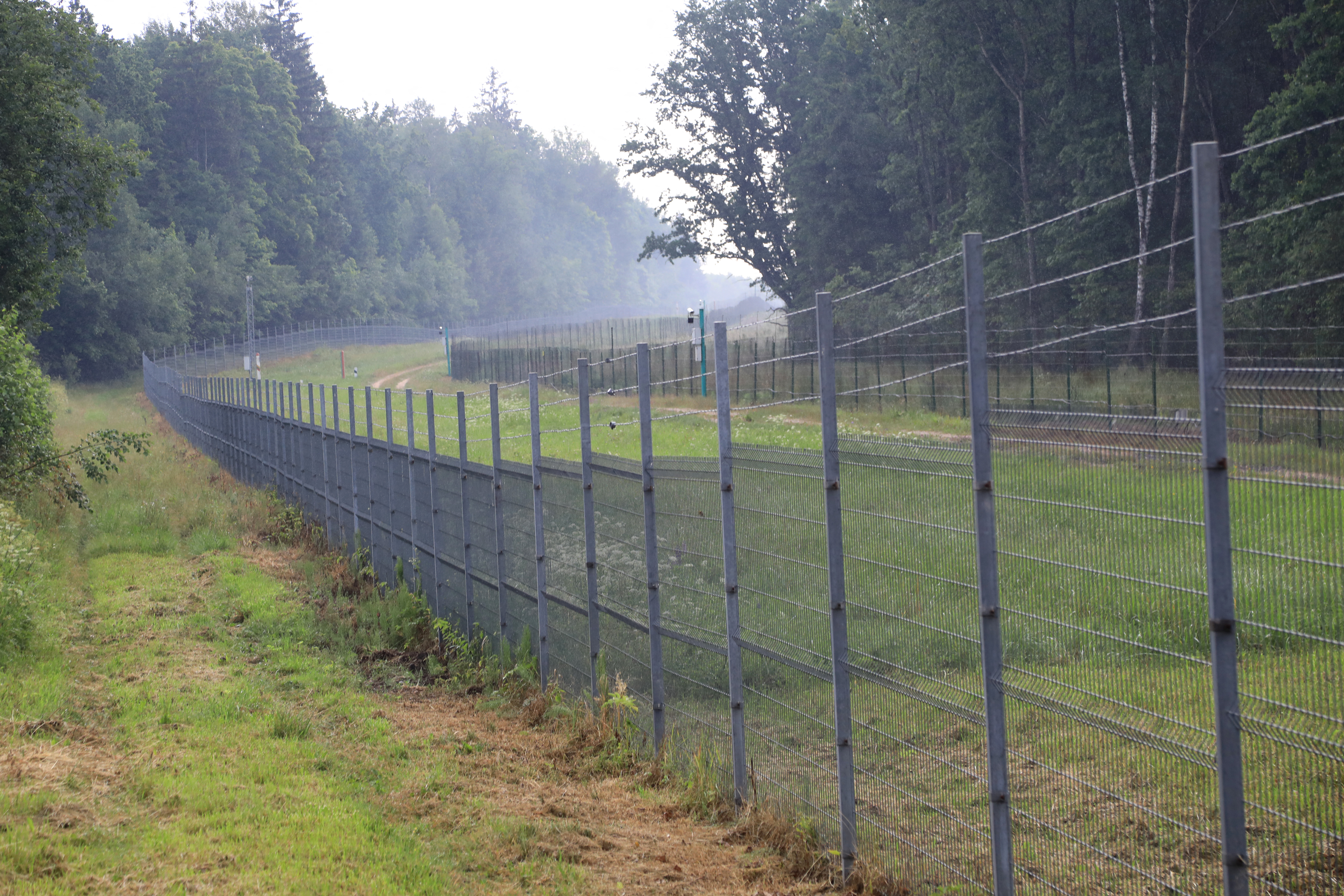 Litvánia kerítést épít a fehérorosz határra