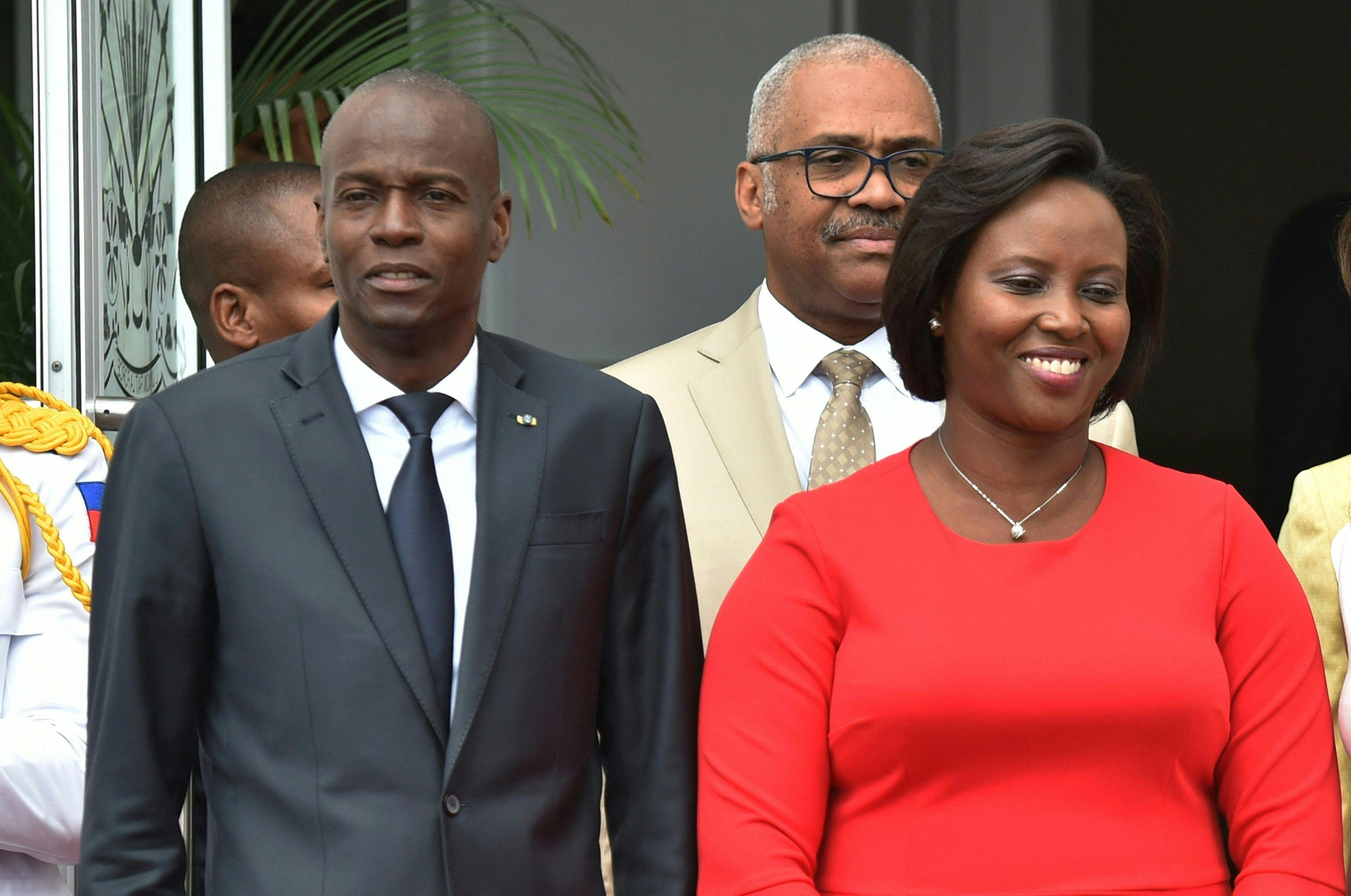 A zsoldosok pillanatok alatt végeztek Haiti elnökével, mondta el özvegye