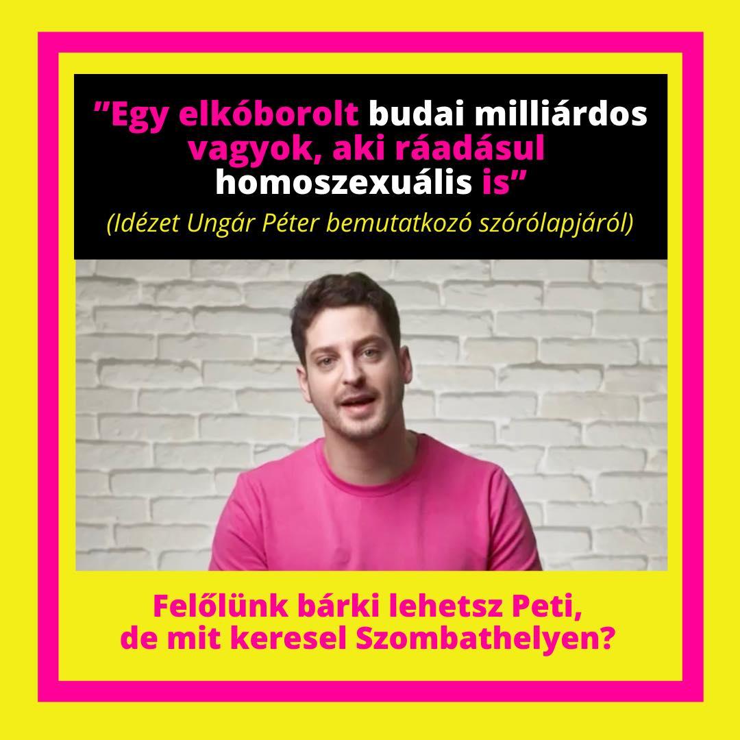"""Ungár Péter vs. vasi kormánymédia: """"Legalább legyen bennük annyi férfiasság, hogy buziznak egy rendeset"""""""