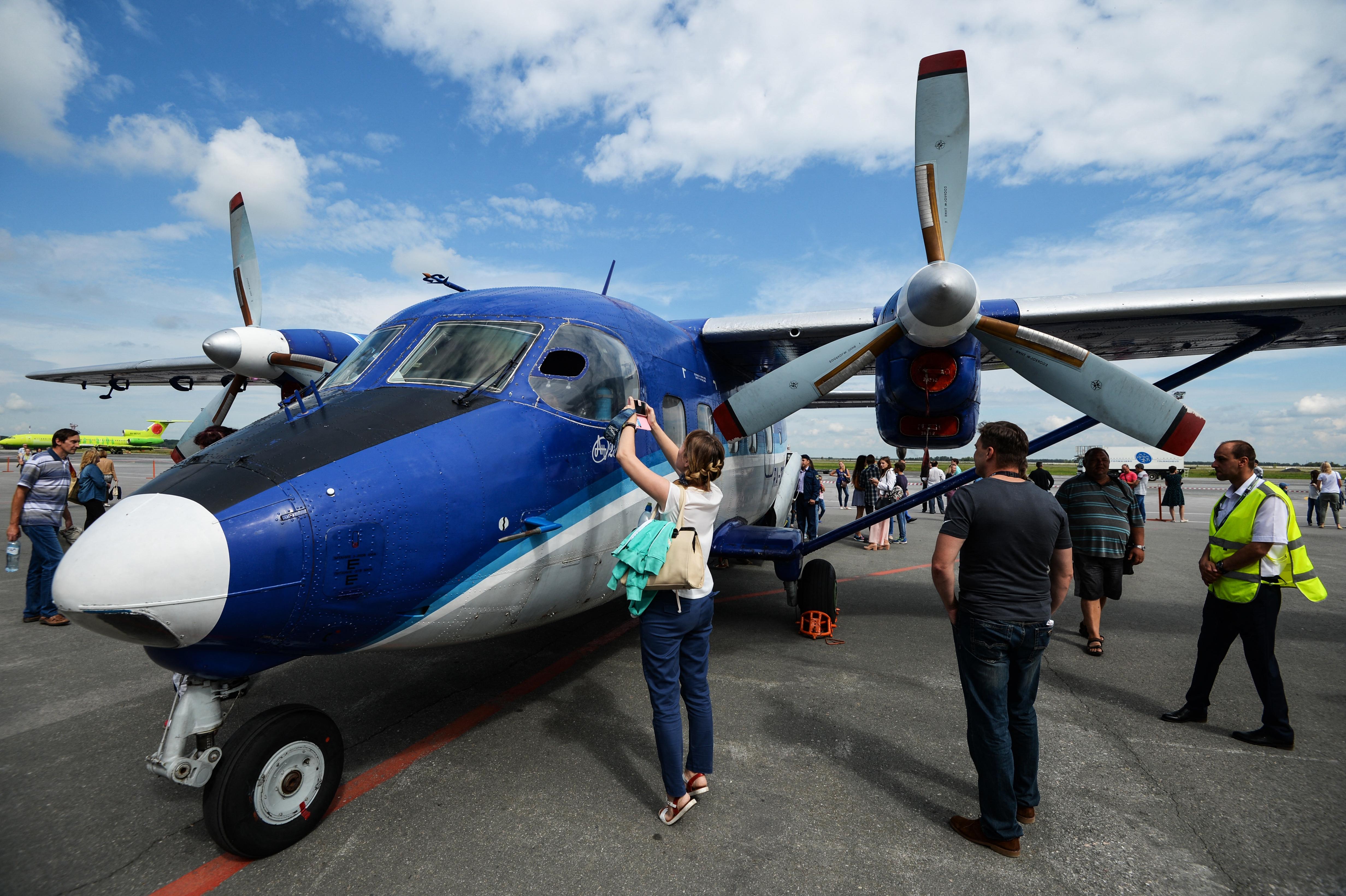 Kényszerleszállást hajtott végre Szibériában egy An-28-as utasszállító repülőgép