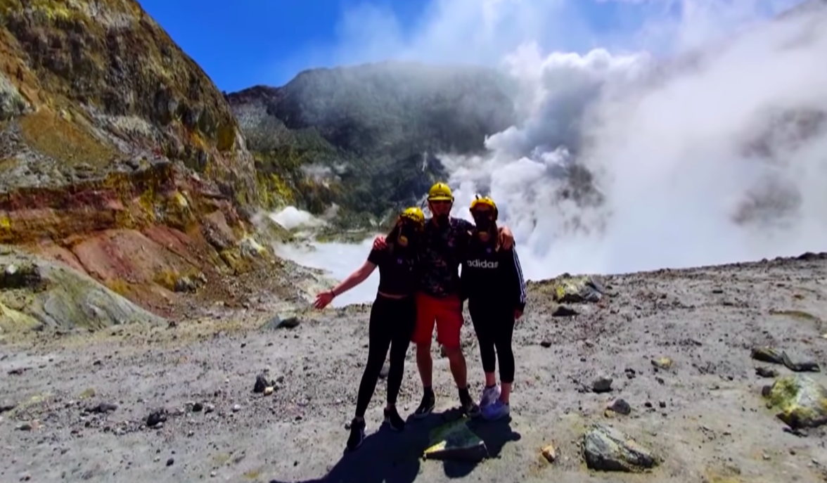 Túlélni egy vulkánkitörést