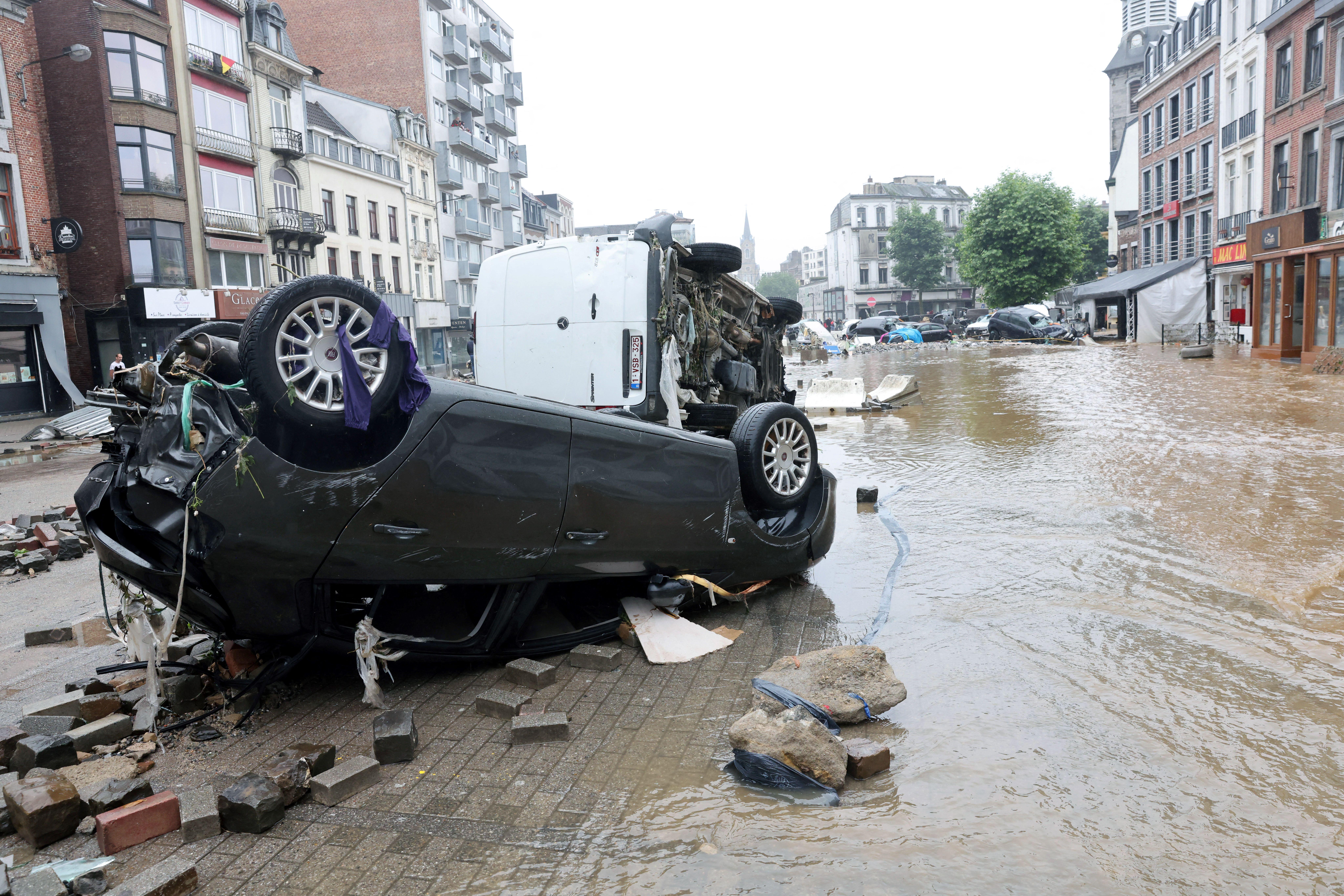 Vizsgálják, hogy történt-e emberi mulasztás a belgiumi áradásoknál